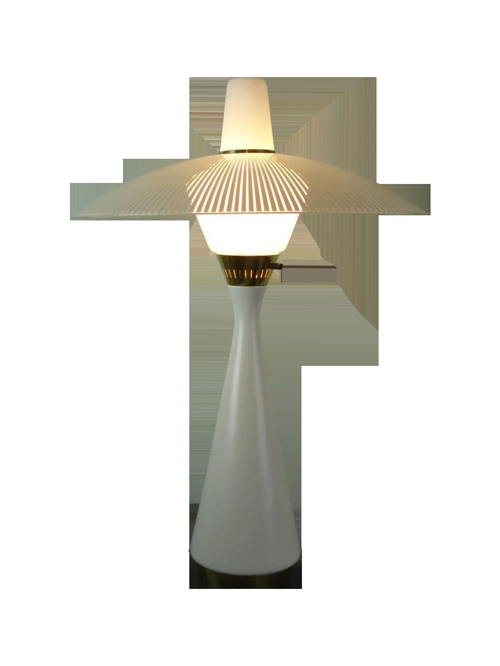 Gerald thurston lightolier scandia table lamp chairish geotapseo Image collections