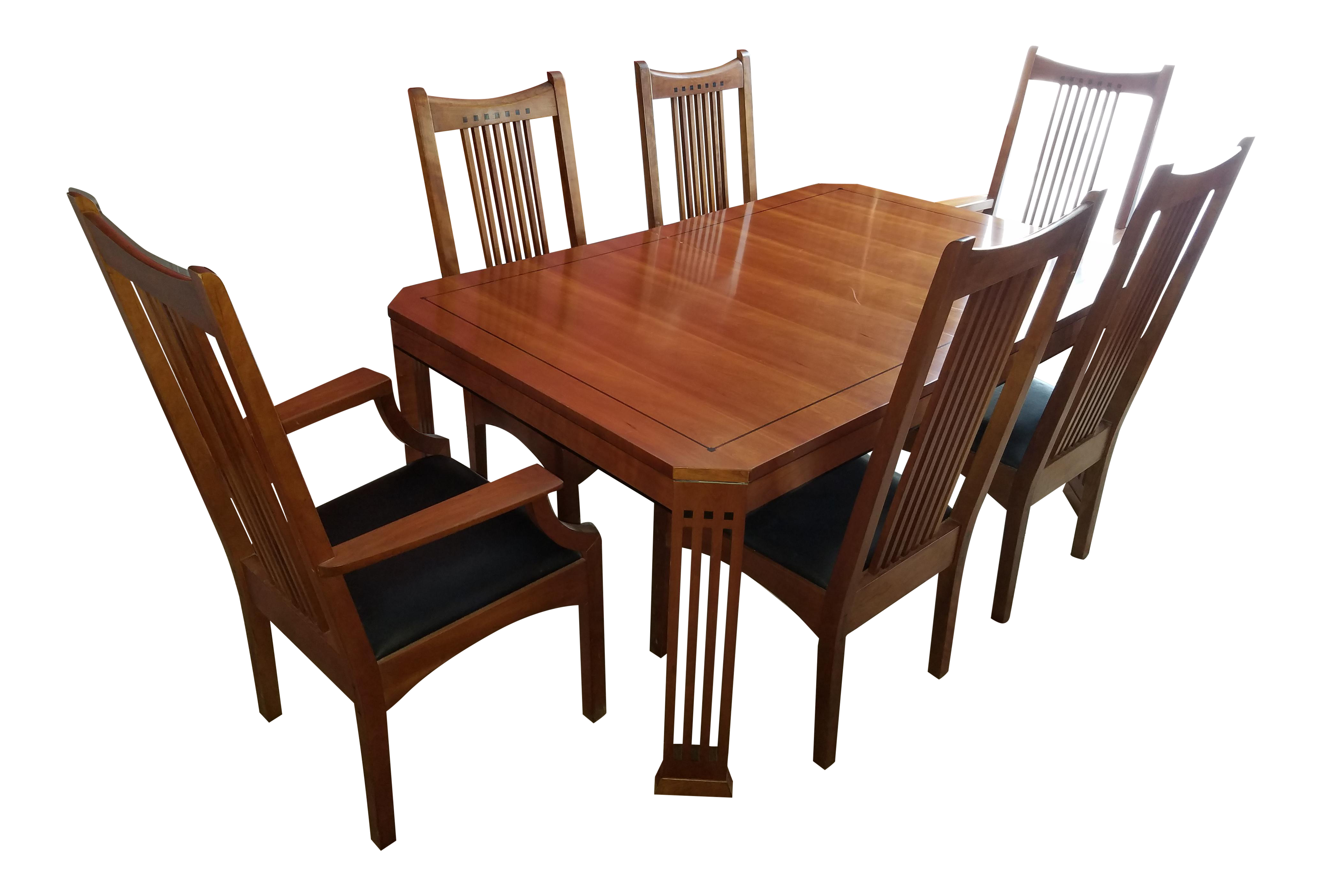 Stickley dining room furniture for sale - Stickley 21st Century Collection Dining Table Set With 6 Chairs Chairish