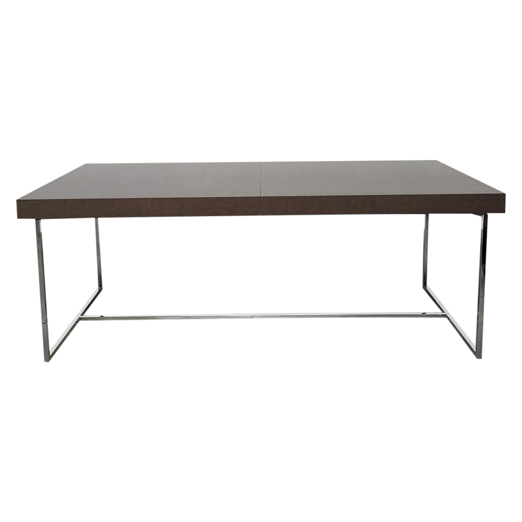 B b italia athos dining table chairish - B b italia athos dining table ...