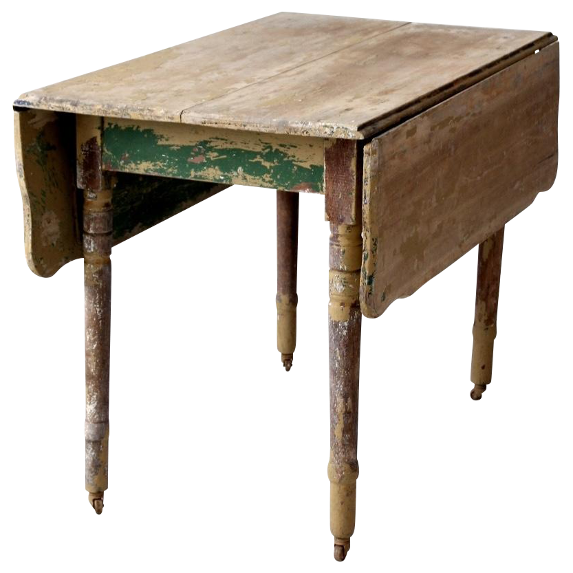 Antique Drop Leaf Table Chairish : b0be5ca0 0747 4b19 bf39 154bdfc7615d from www.chairish.com size 833 x 833 png 489kB