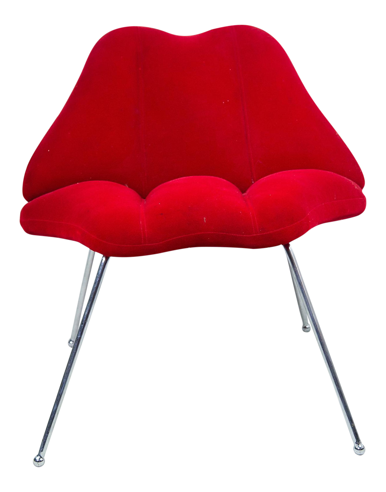 Red velvet chair - Red Velvet Chair 37