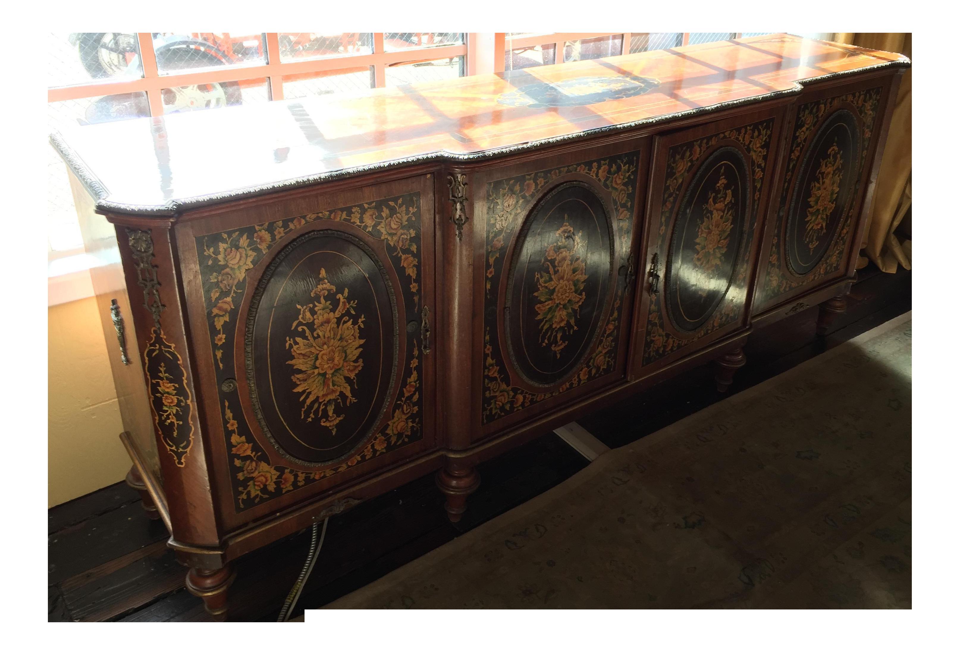 Antique Wooden Buffet ~ Antique s wooden buffet chairish