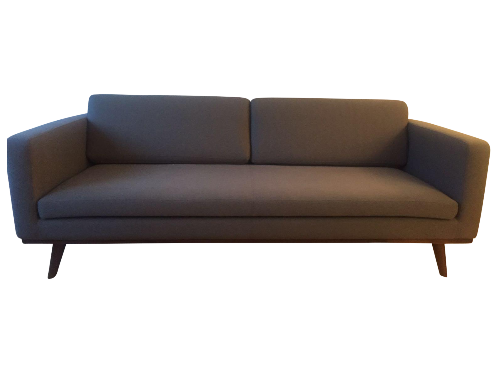 Dot Amp Bo Blair Grey Sofa Chairish