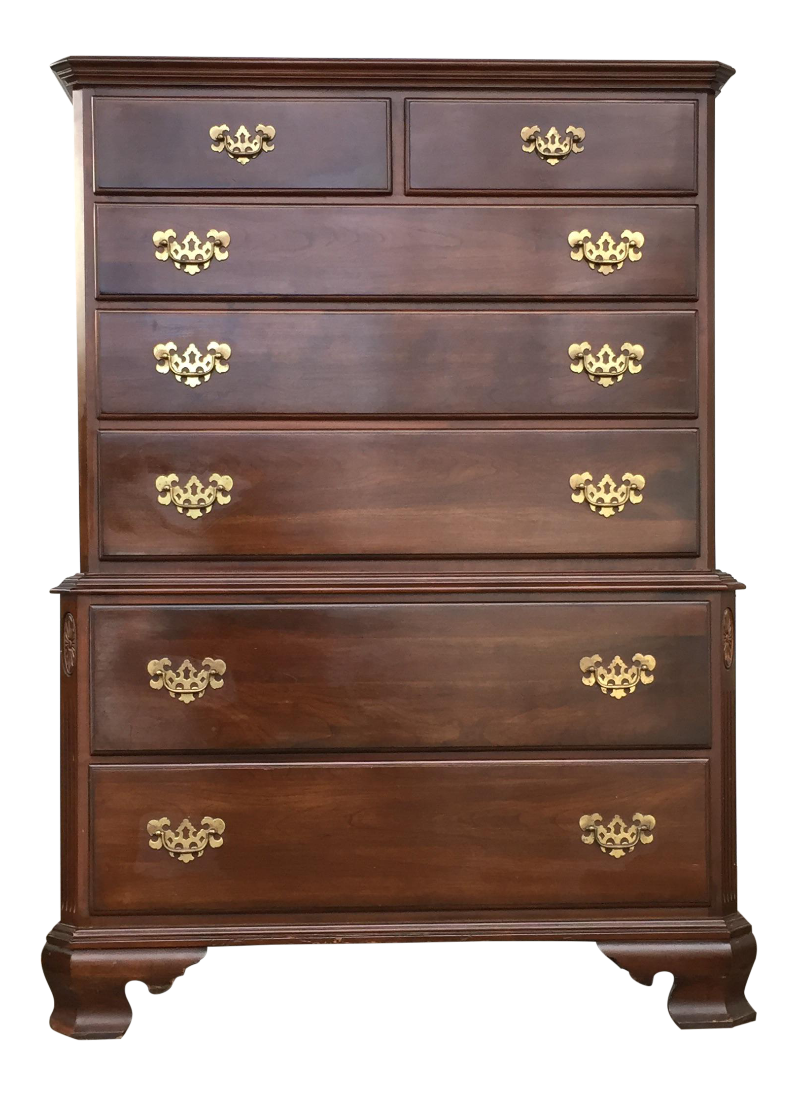 Painting French Provincial Bedroom Furniture Gently Used Ethan Allen Furniture Chairish