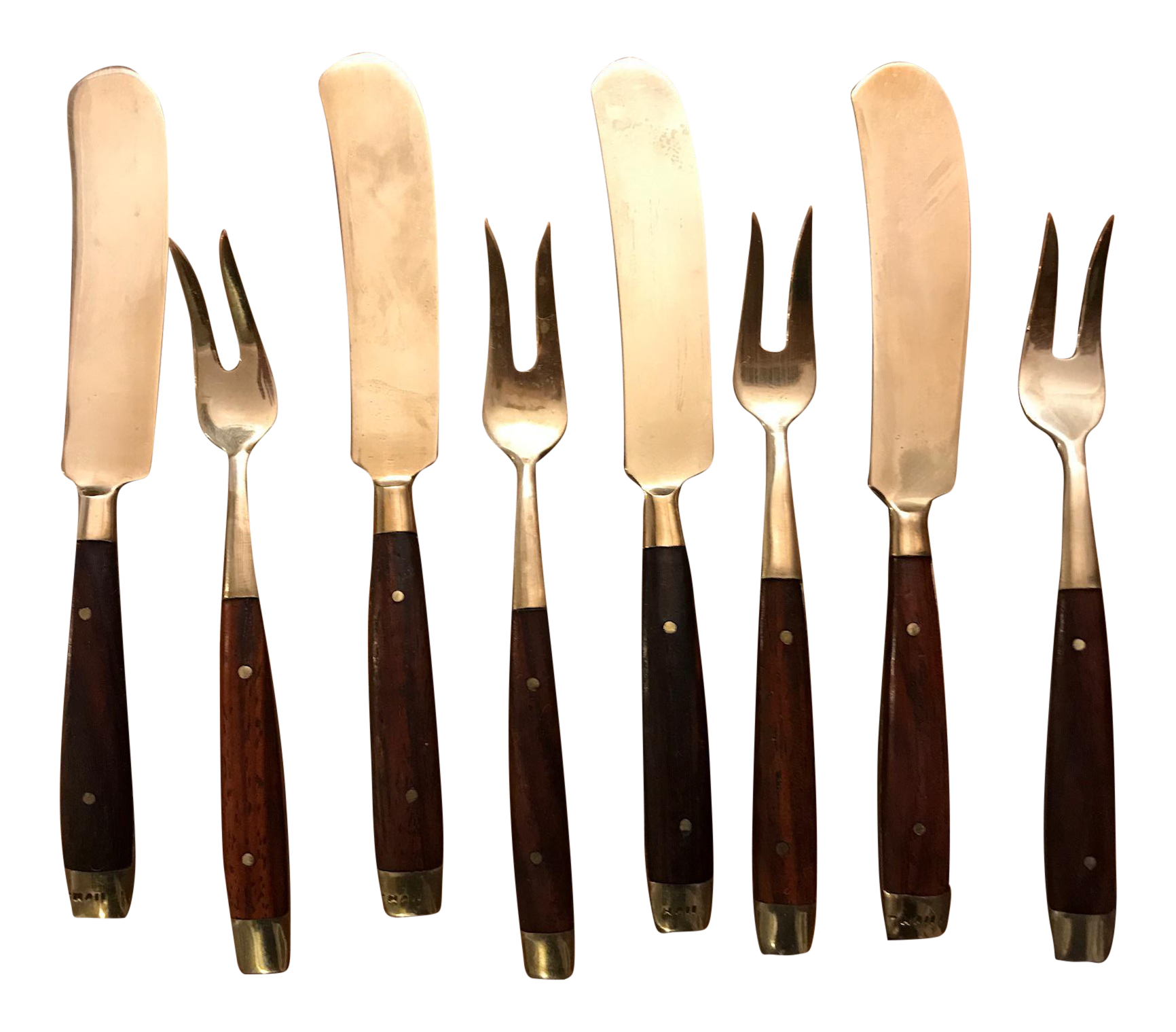 Vintage Thai Appetizer Utensils Set Of 4 Chairish