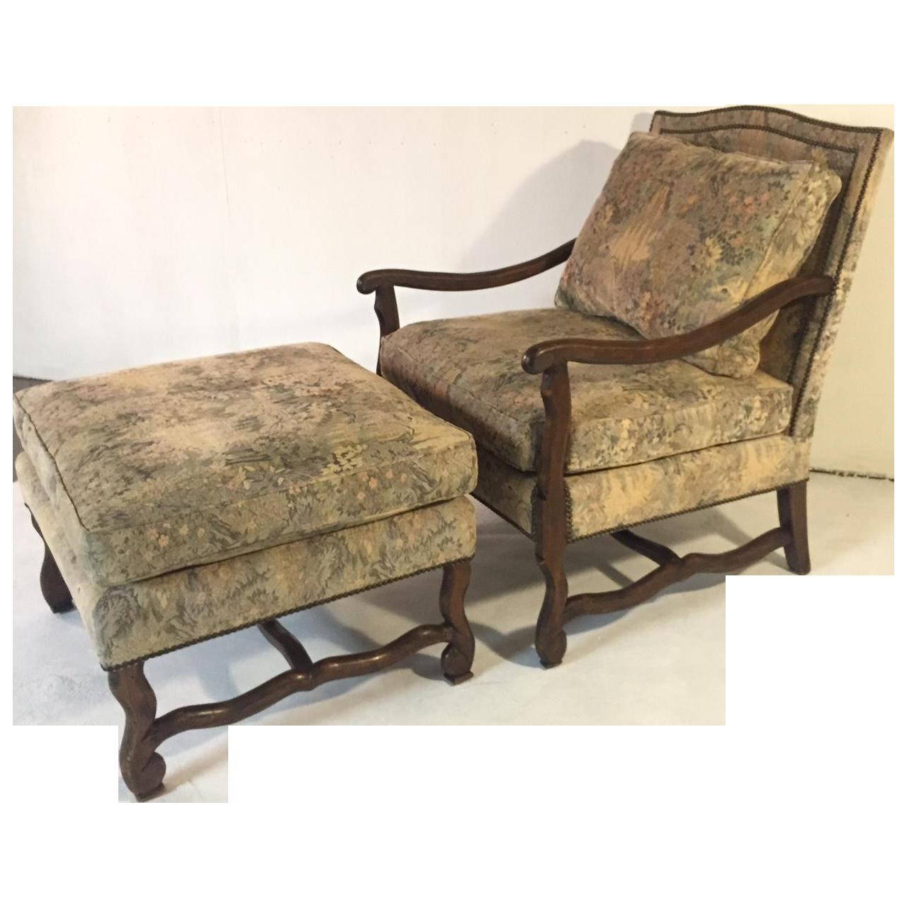 Barcelona Lounge Chair and Ottoman Set