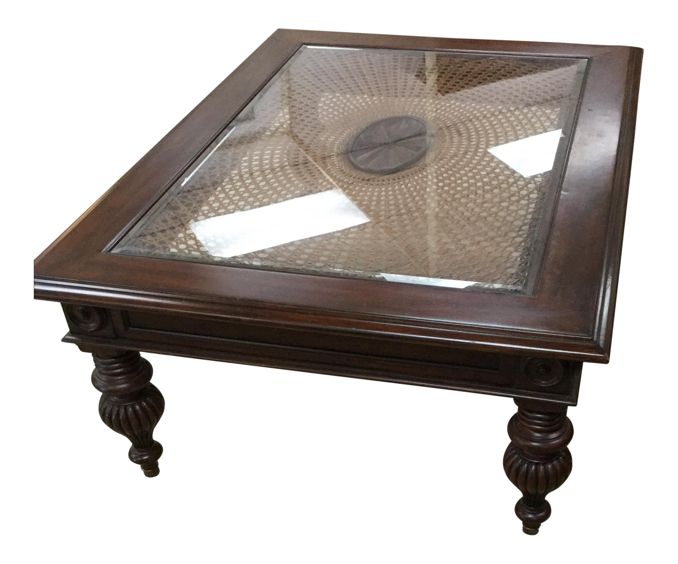 Ethan Allen British Colonial Coffee Table Chairish
