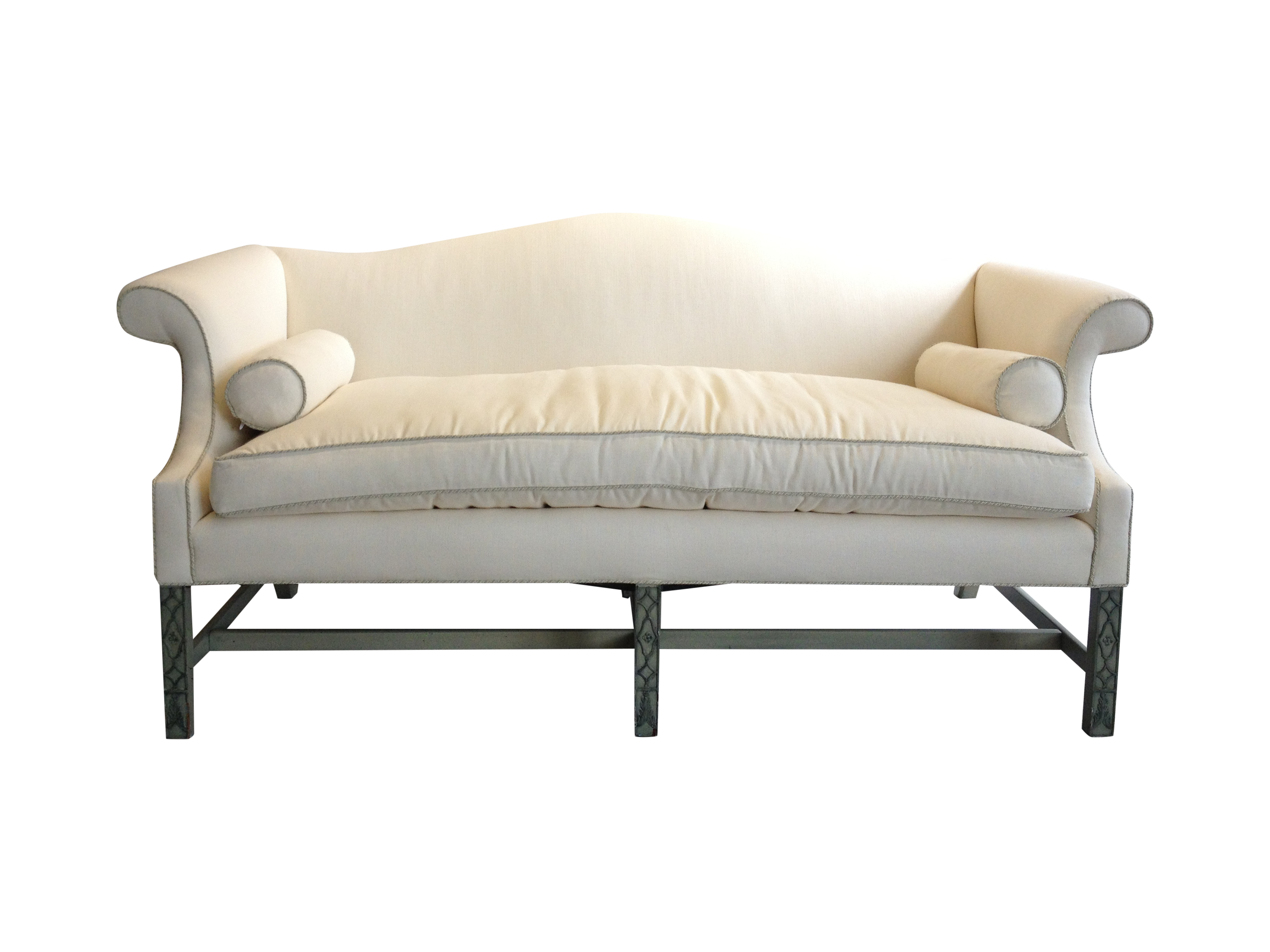 Chippendale sofaschippendale sofas - Image Of Kittinger Chippendale Sofa With Fretwork Legs