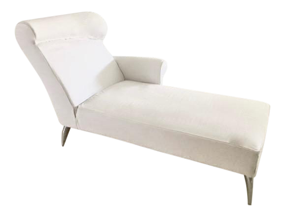 driade royalton white chaise longue by philippe starck 1988 chairish. Black Bedroom Furniture Sets. Home Design Ideas
