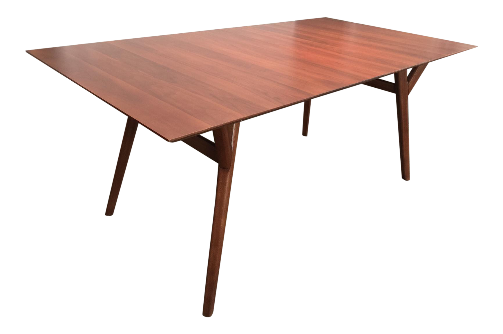 Mid-Century Expandable Dining Room Table