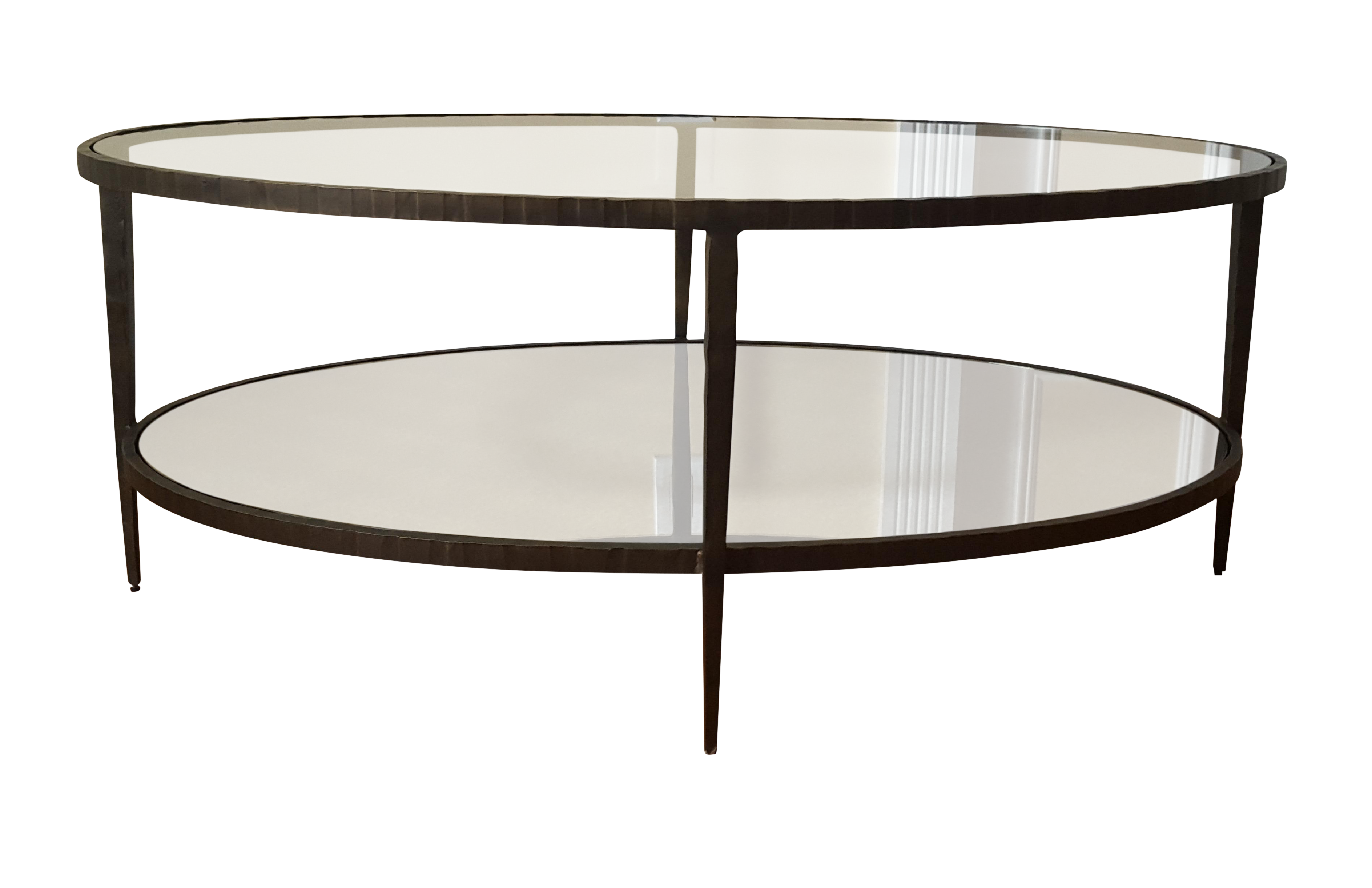 Clairemont Oval Coffee Table Chairish