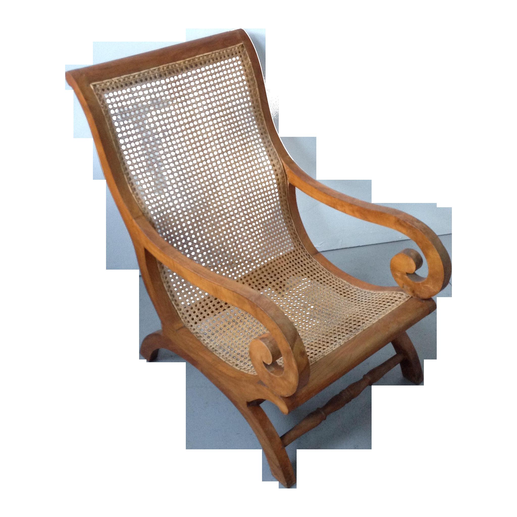 Vintage Plantation Arm Chair Chairish