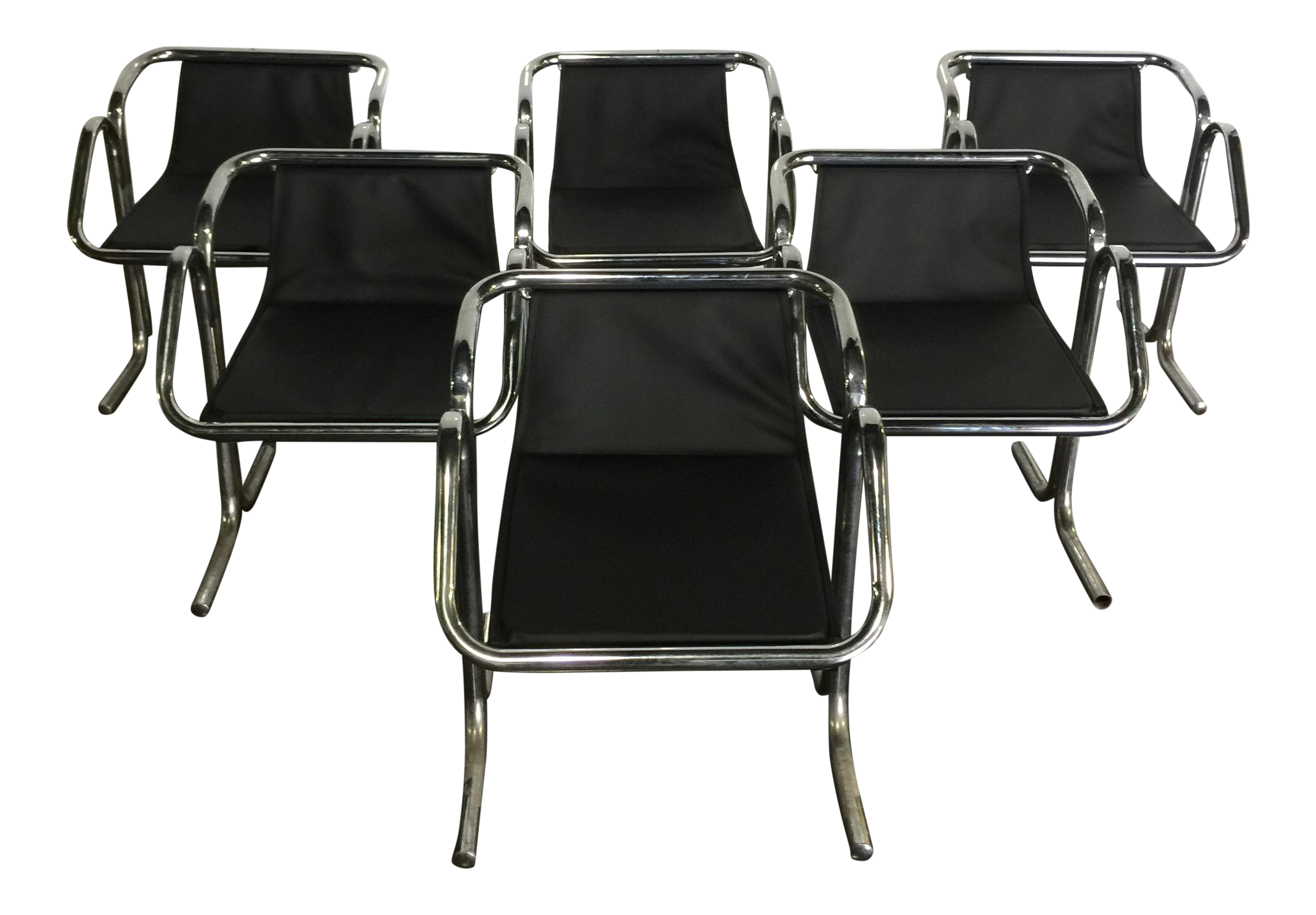 Vintage Jerry Johnson Arcadia Chairs Set of 6