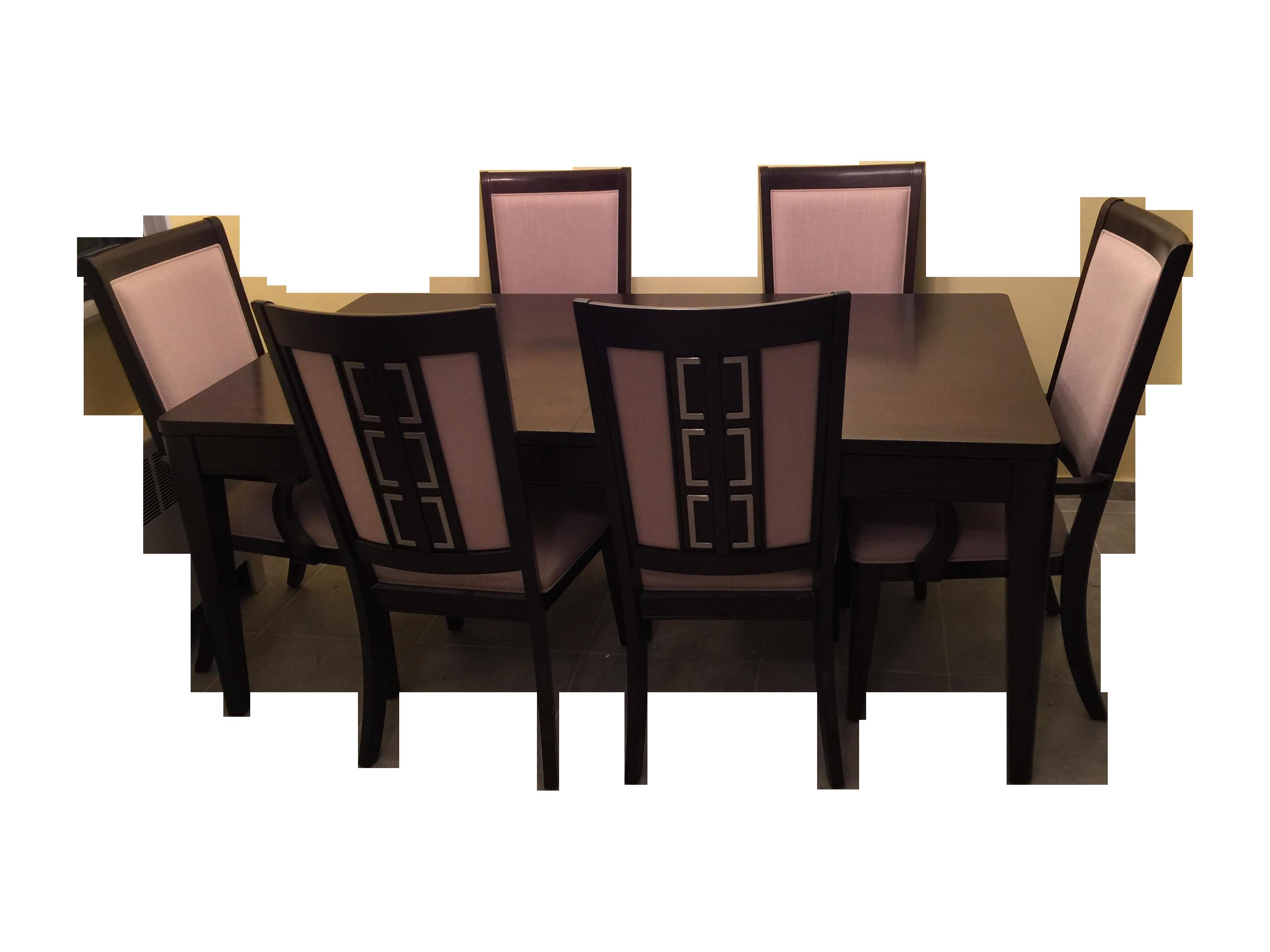 Raymour Amp Flanigan Cadence Dining Set S 7 Chairish