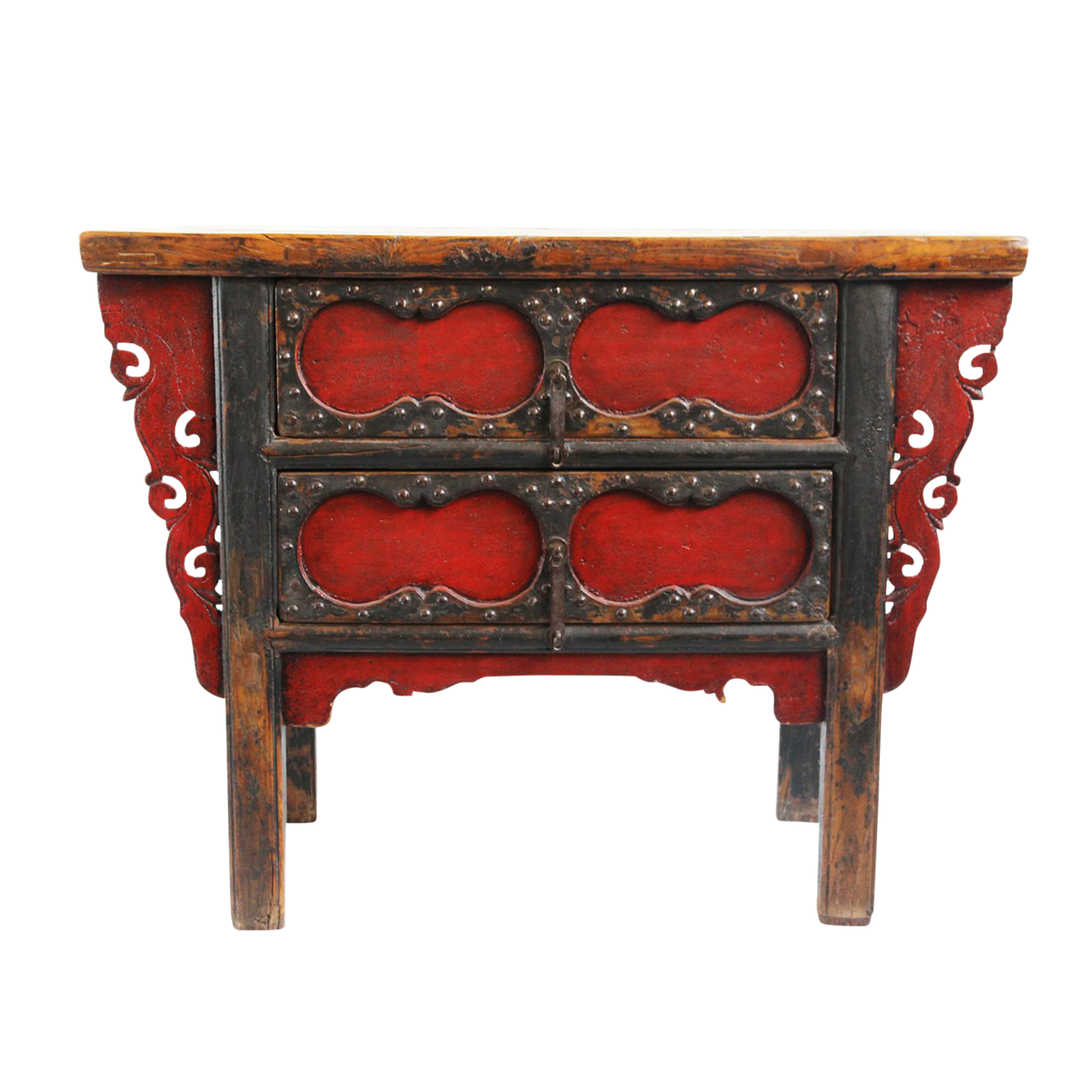 Antique mongolian entry table chairish