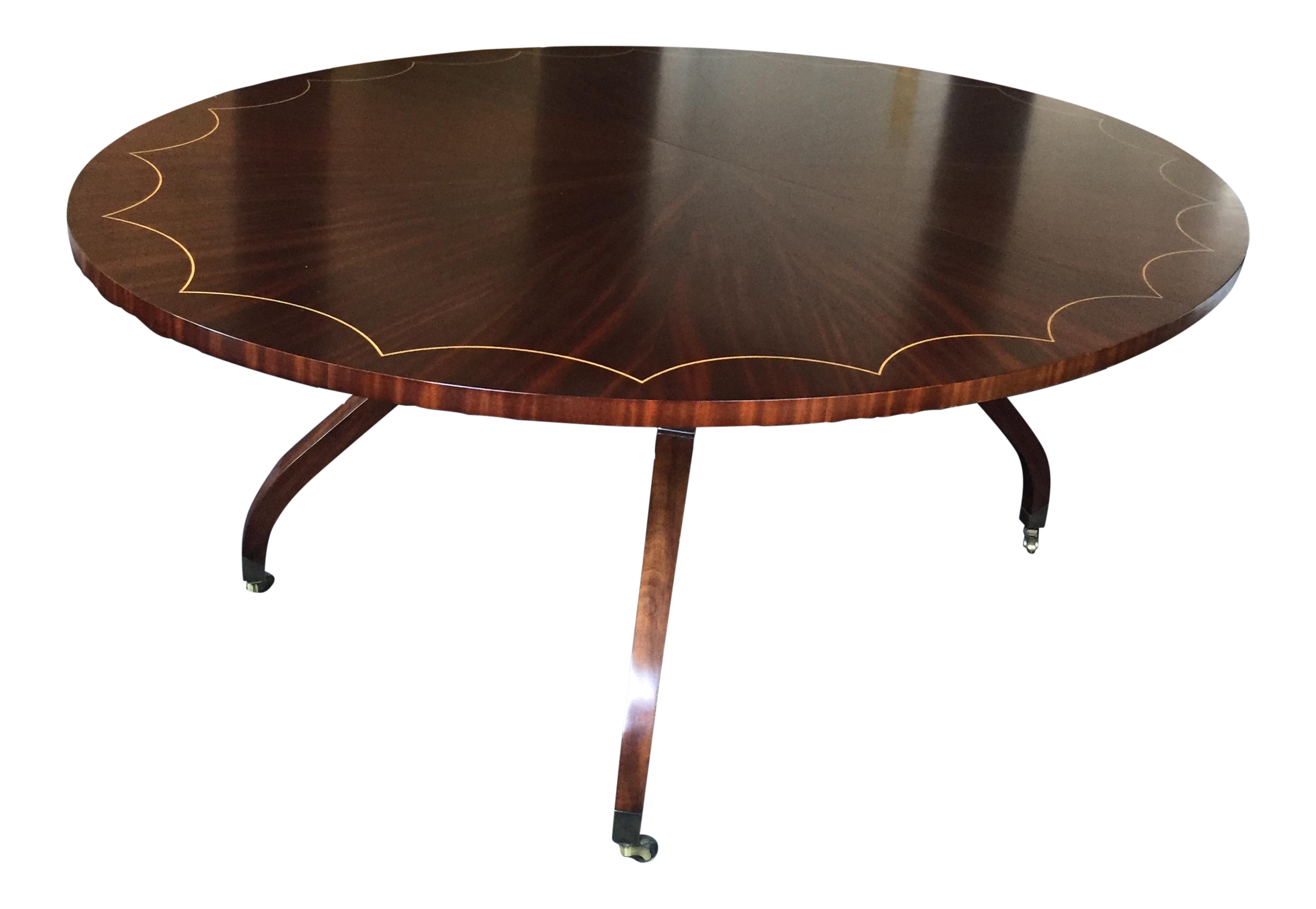 Oval Dining Table With 2 Leaves Chairish