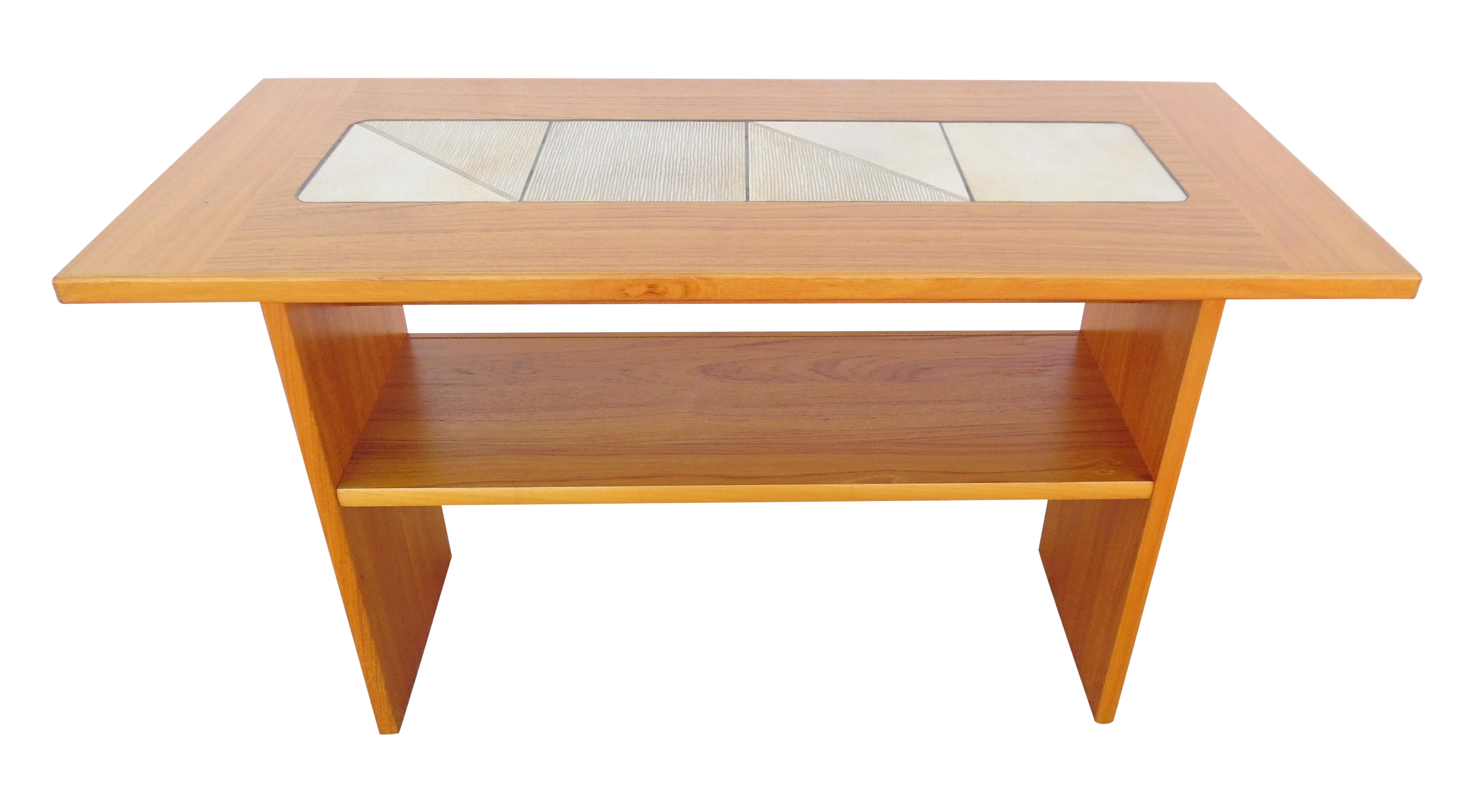 Teak Sofa Table Danish Teak Sofa Table With Pull Out Tray