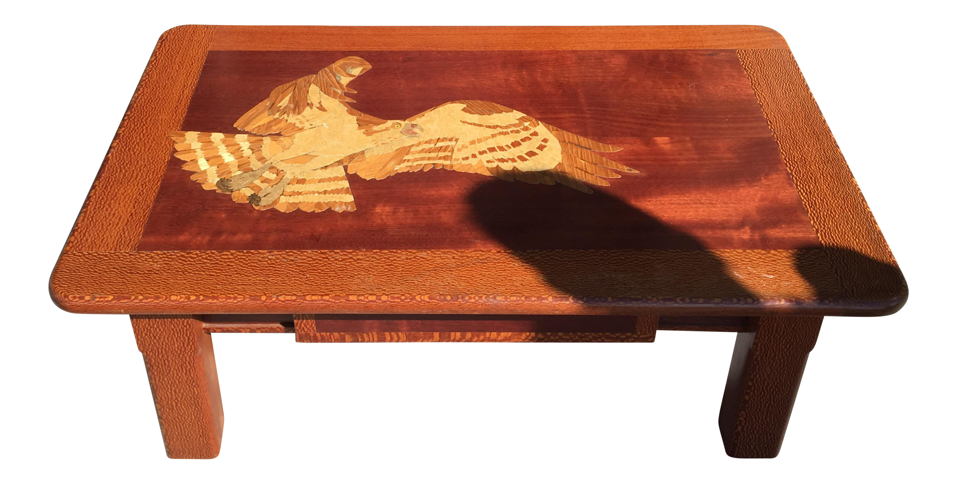 Hand carved wooden coffee table chairish Hand carved coffee table