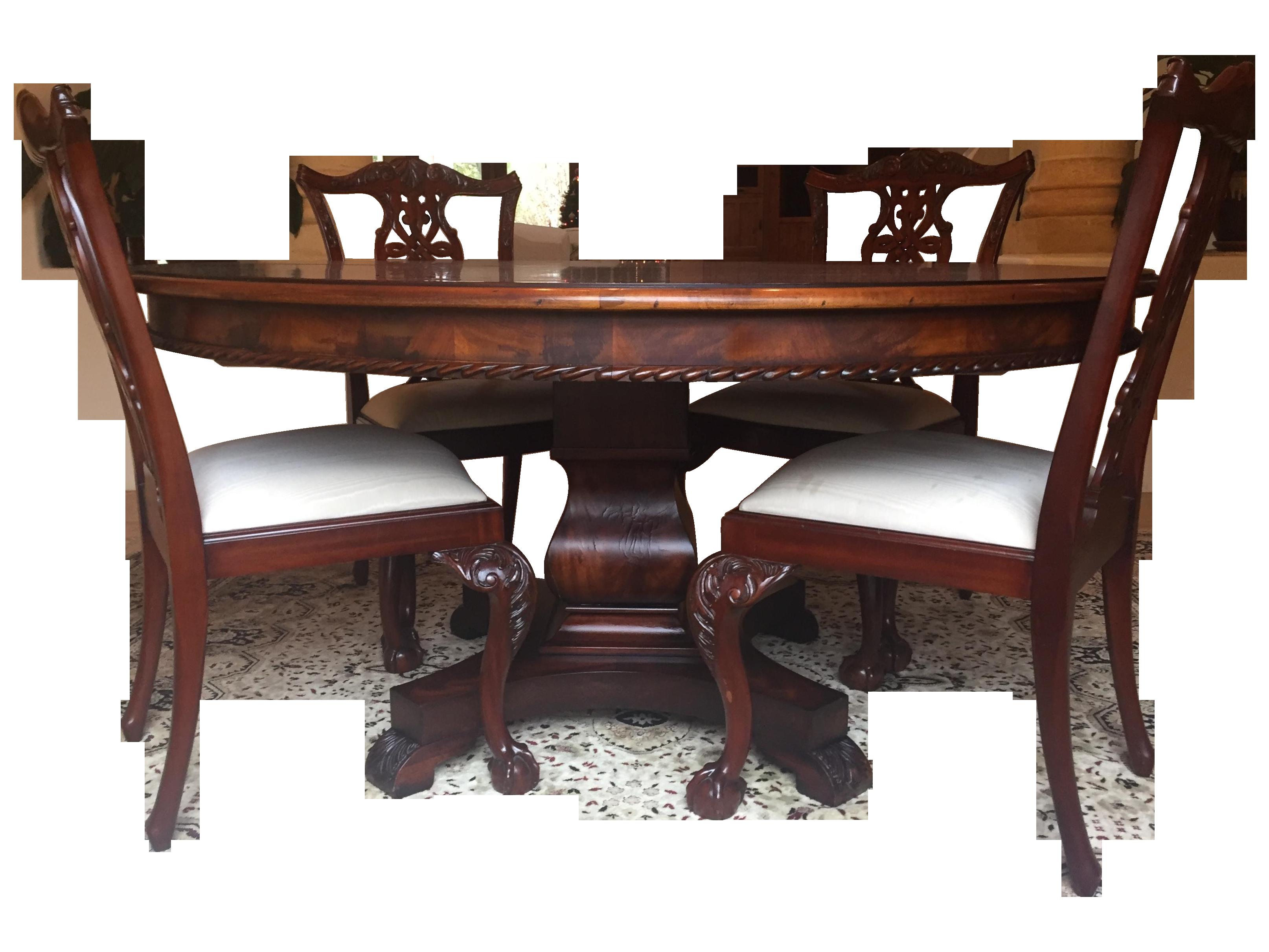 Henredon & Maitland Smith Dining Set | Chairish