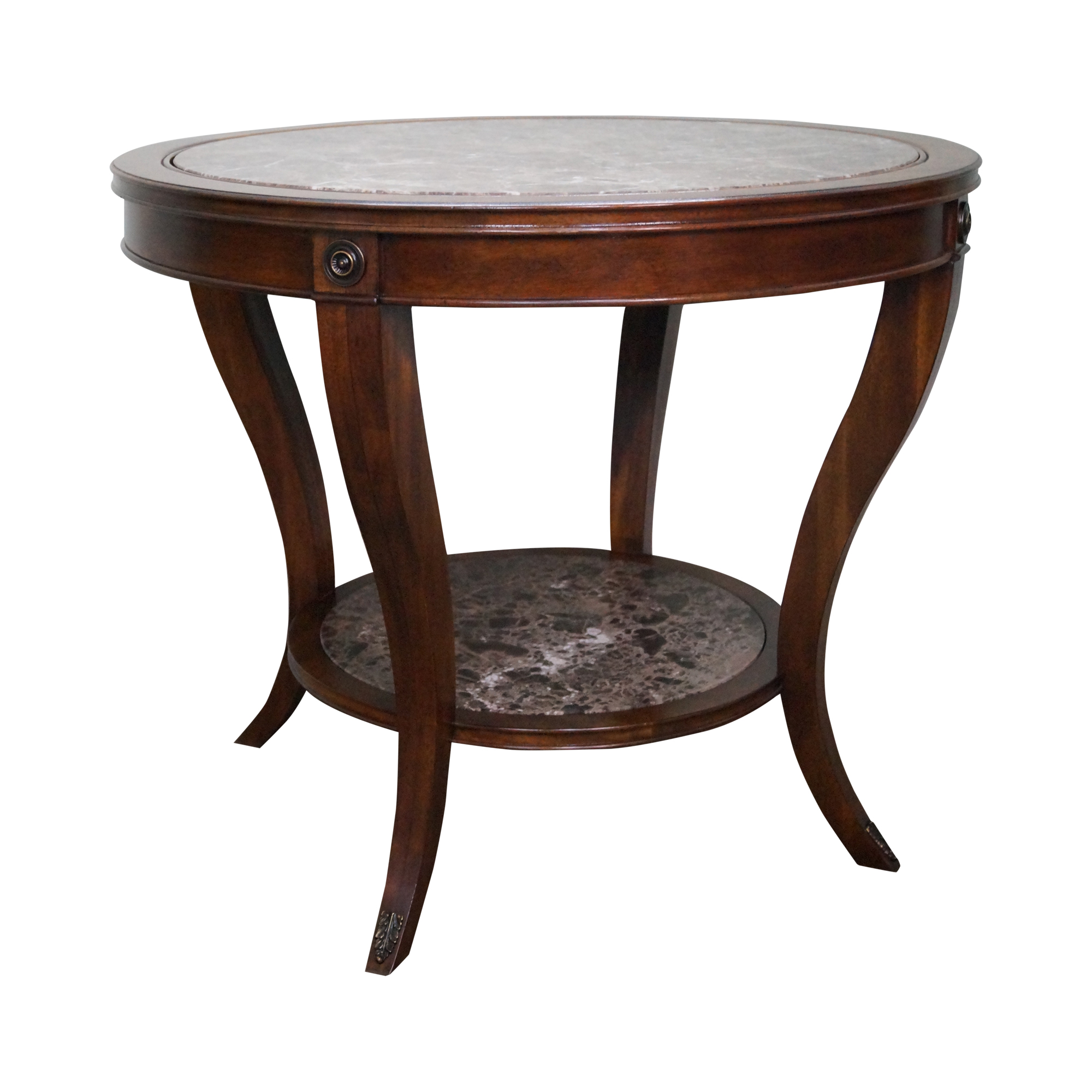 Drexel heritage mahogany regency center table chairish geotapseo Image collections