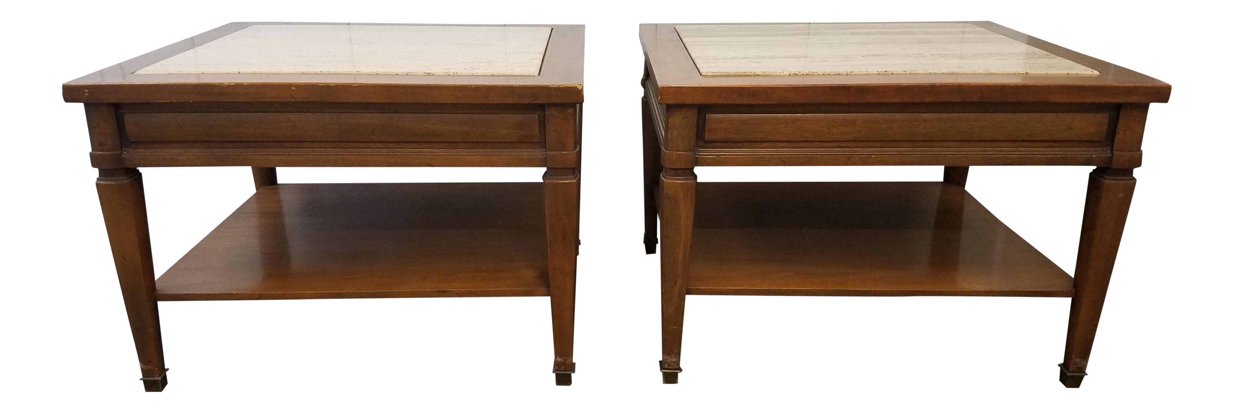 Mid Century Gordons Inc Fine Furniture End Tables