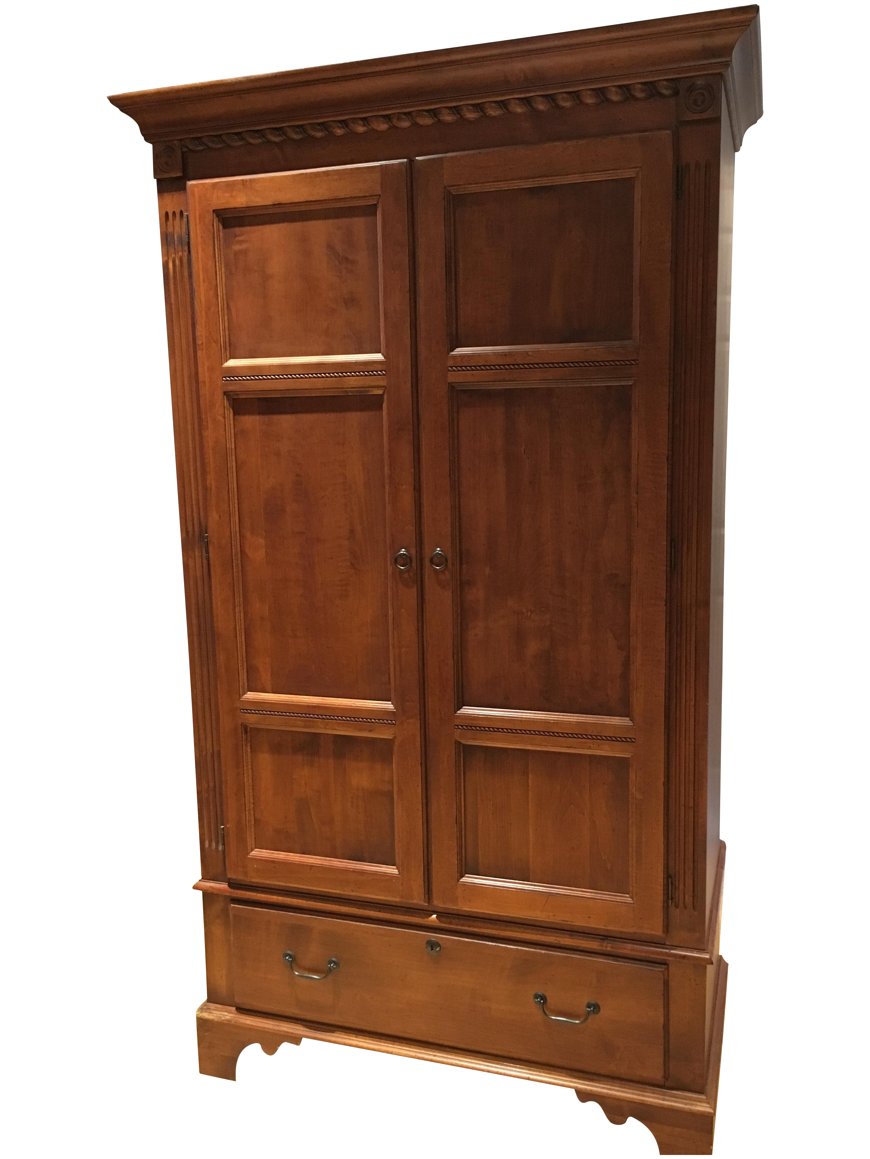 Ethan Allen Quot Country Crossings Quot Armoire Chairish