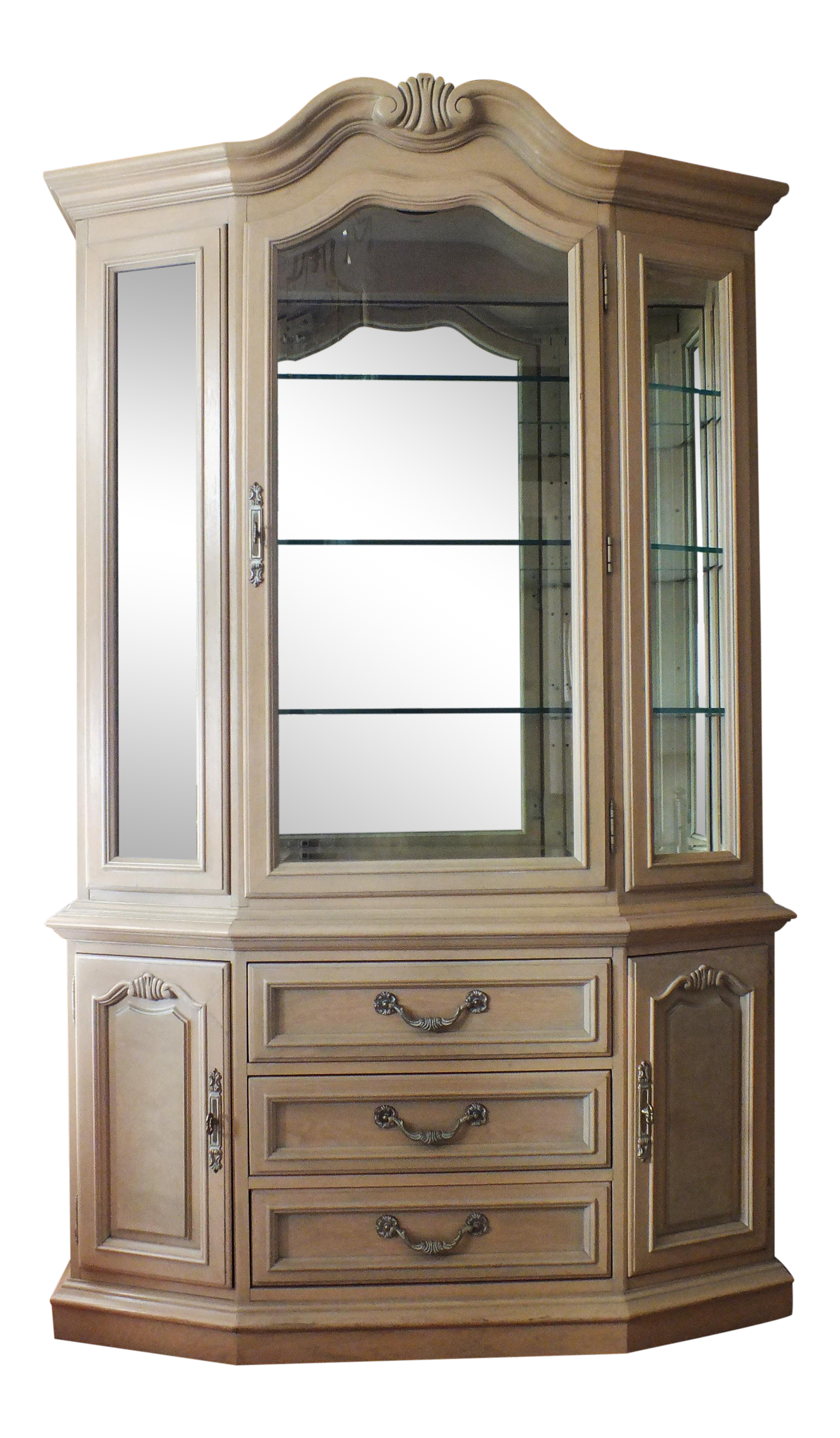 French country china cabinets - French Country China Cabinets 9