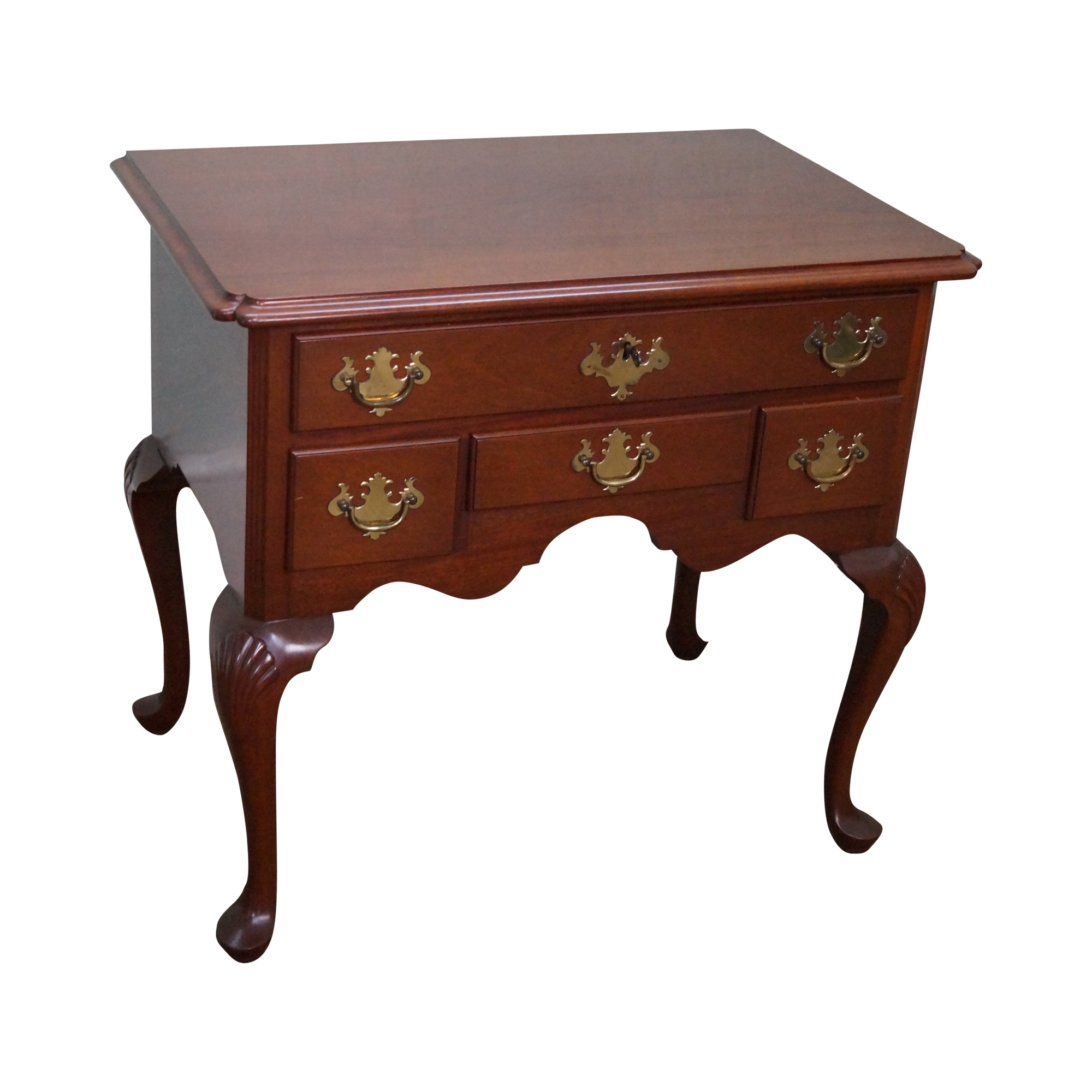 Queen Anne Style Solid Mahogany Low Boy Chairish : queen anne style solid mahogany low boy 5831 from www.chairish.com size 2000 x 2000 png 1615kB