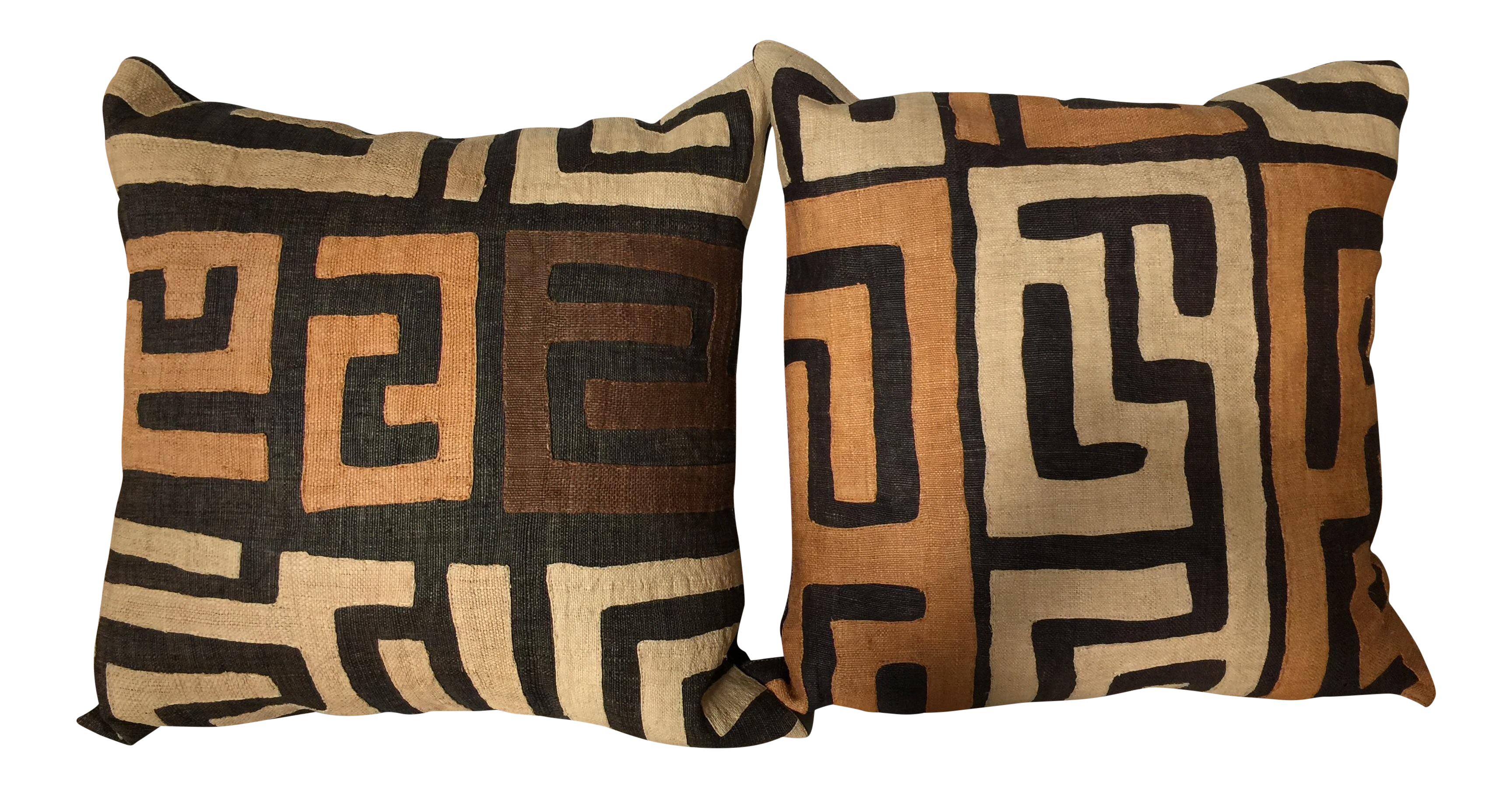 19 kuba pillows set of 2 chairish for 0co om cca 9 source table