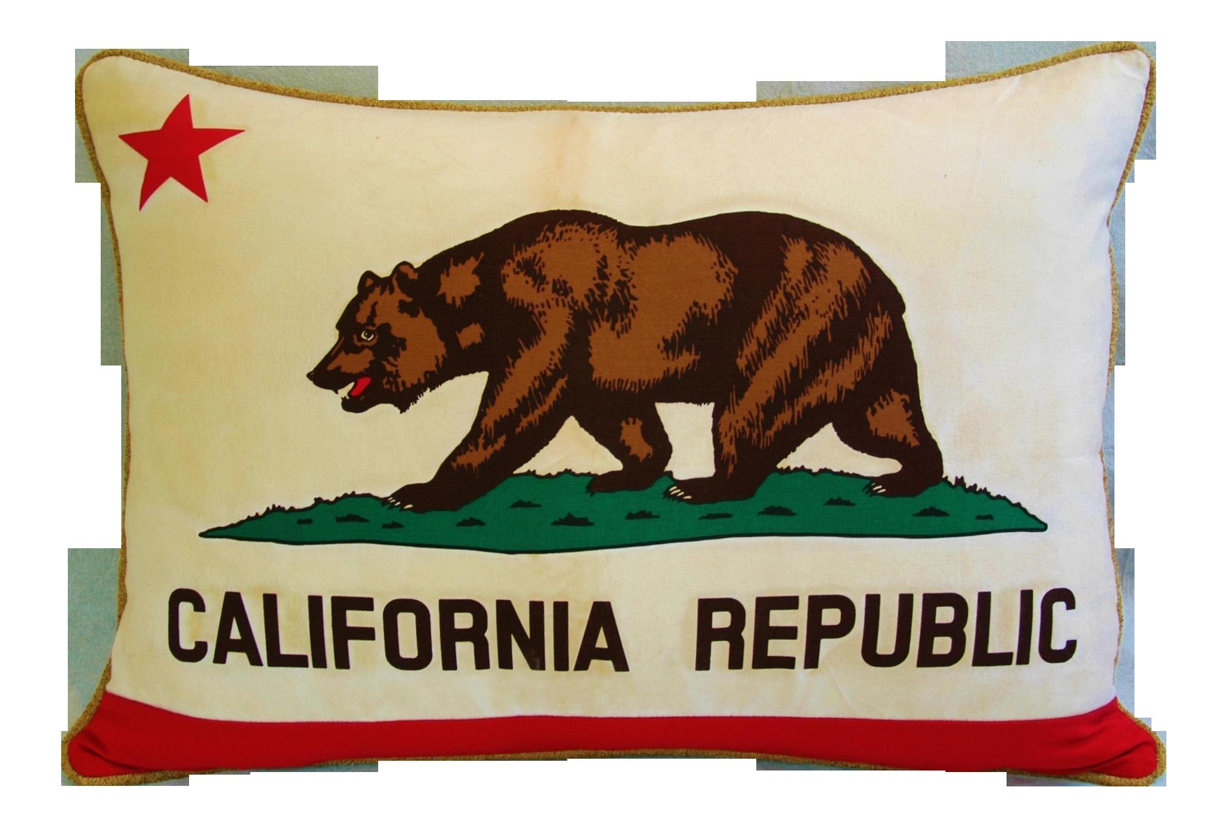 jumbo custom made california republic bear flag feather u0026 down