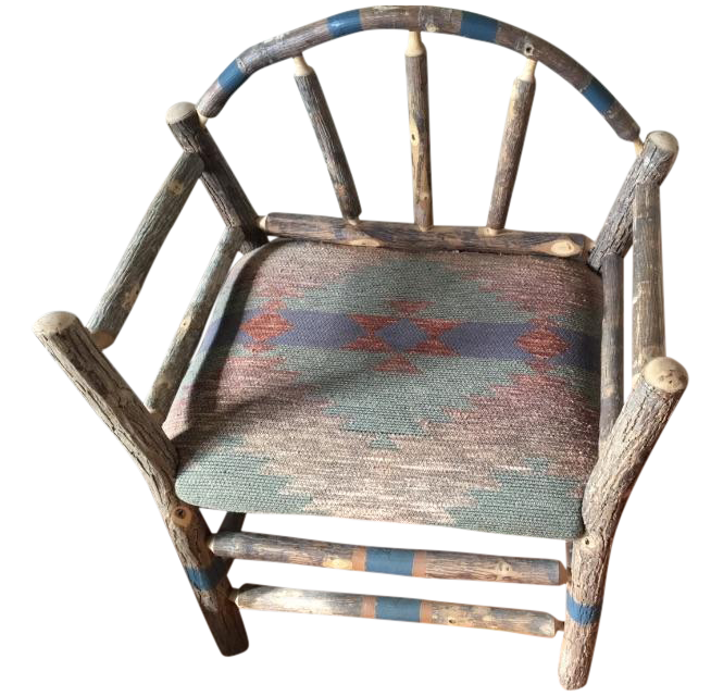 Vintage Ralph Lauren Southwestern Chairs Pair Chairish