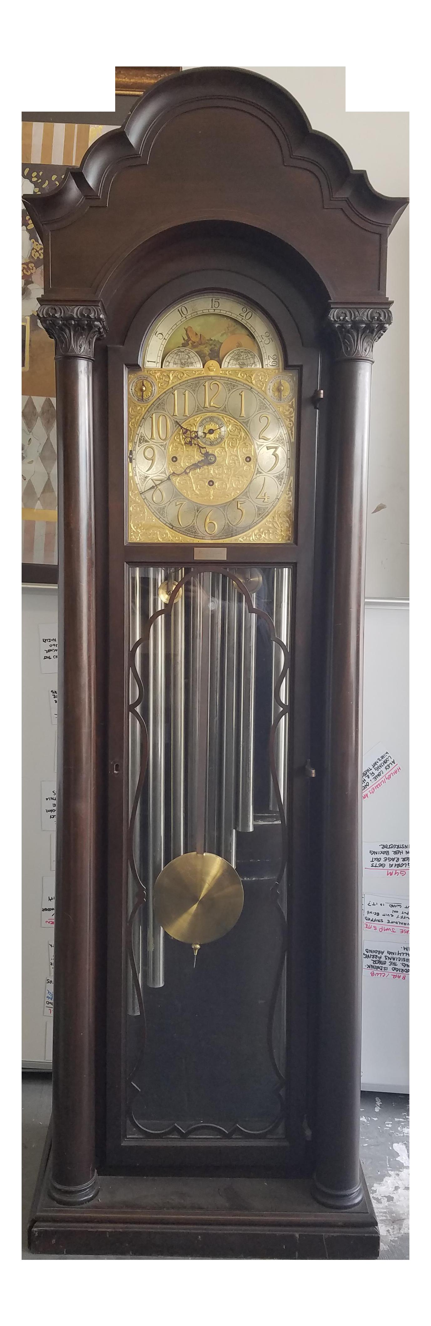 1919 Herschede Grandfather Clock Chairish
