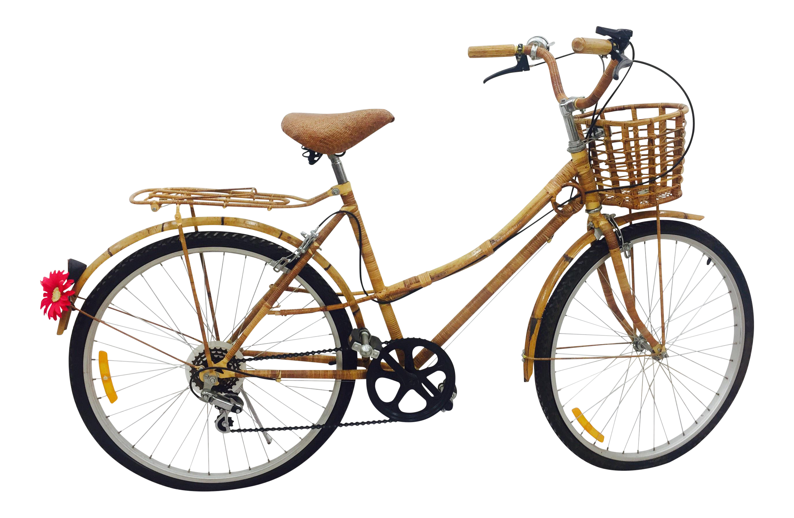 Vintage Bamboo Bicycle Full Size Chairish