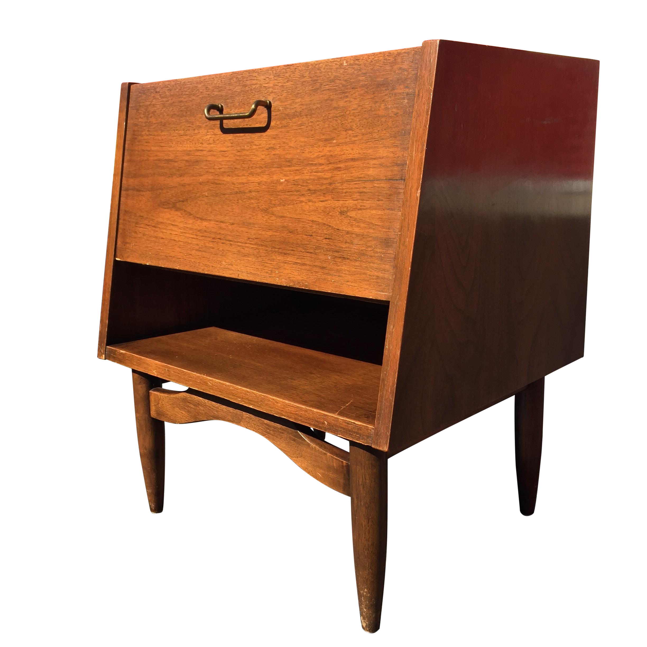 Mid Century American of Martinsville Night Stand : Chairish
