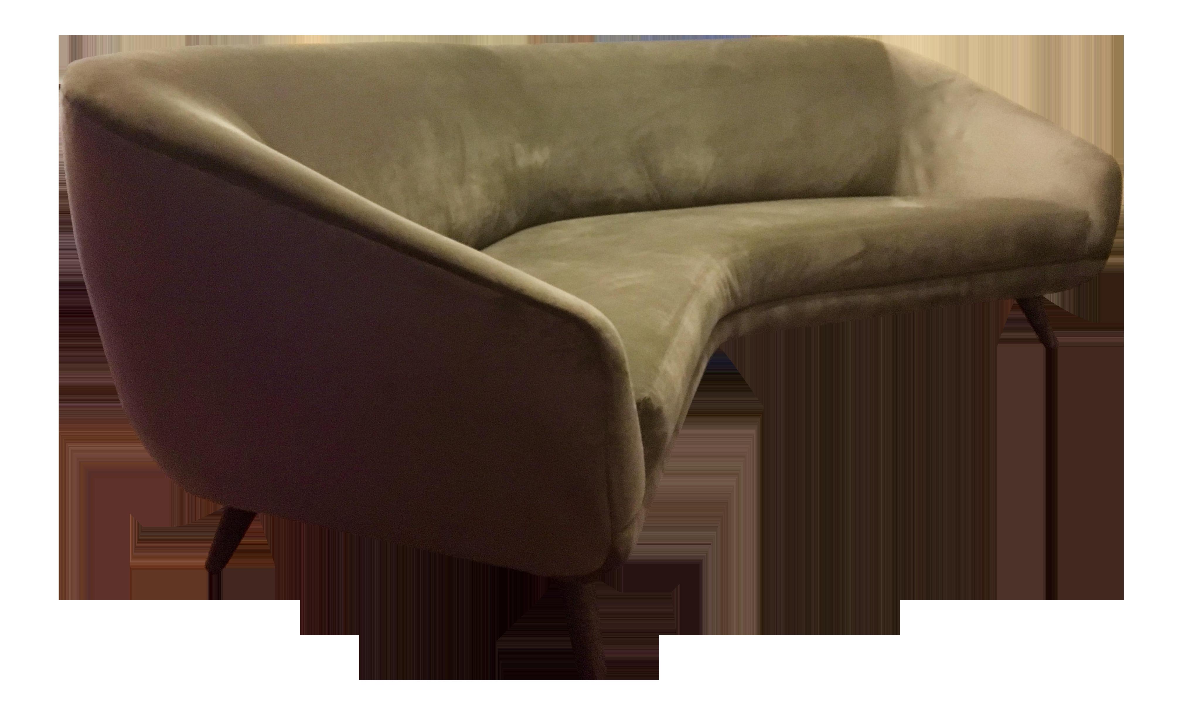 Vladimir Kagan for Weiman Angled Sofa