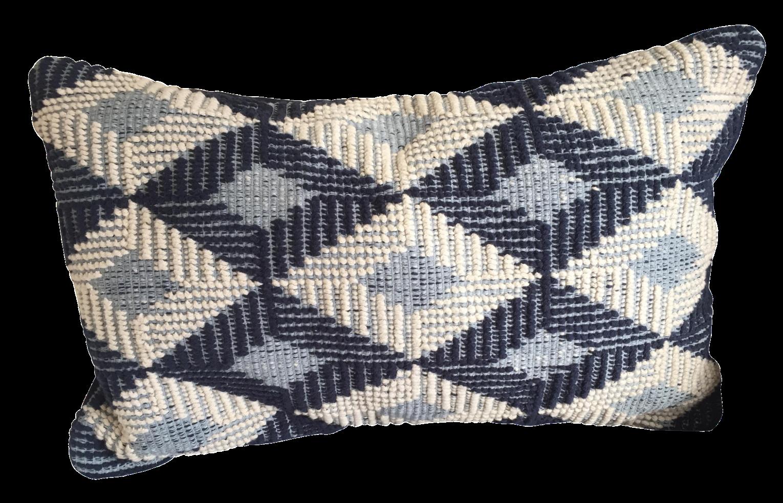 west elm lumbar throw pillow chairish. Black Bedroom Furniture Sets. Home Design Ideas