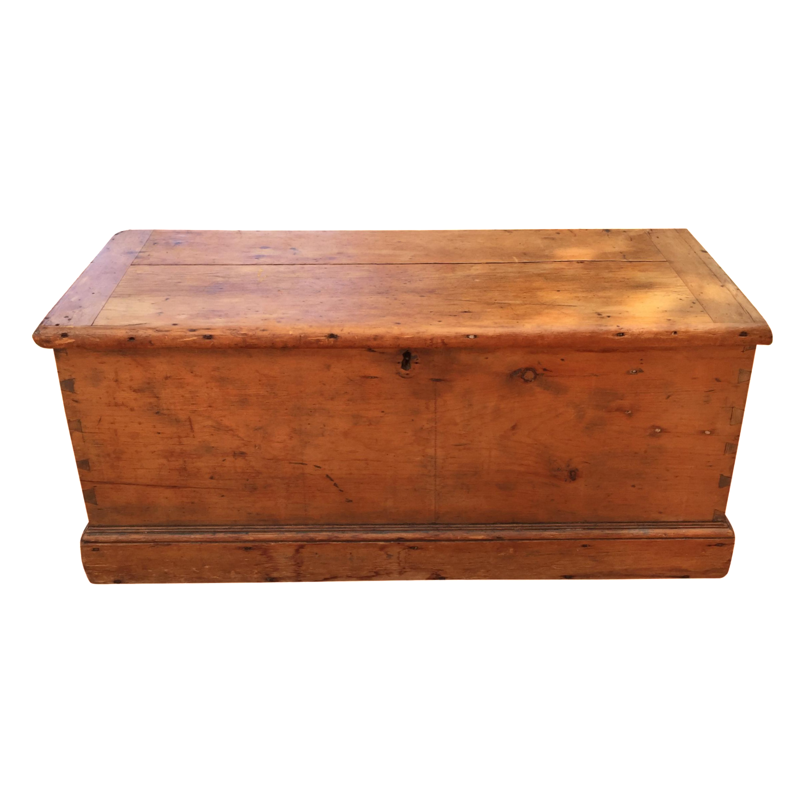 primitive dovetailed blanket chest chairish