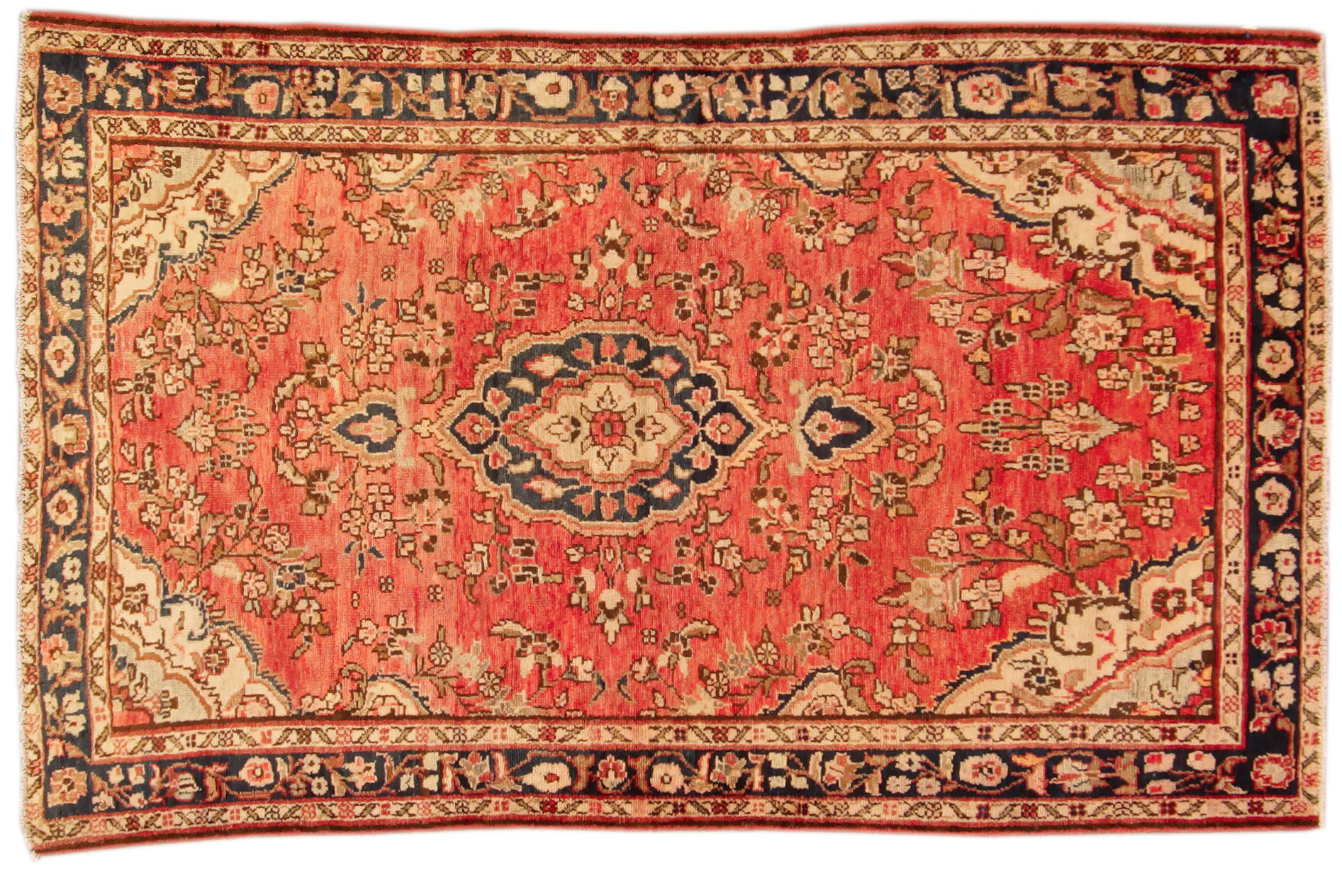 Vintage wool rugs ehsani fine rugs - Deluxe persian living room designs with artistic rug collection ...