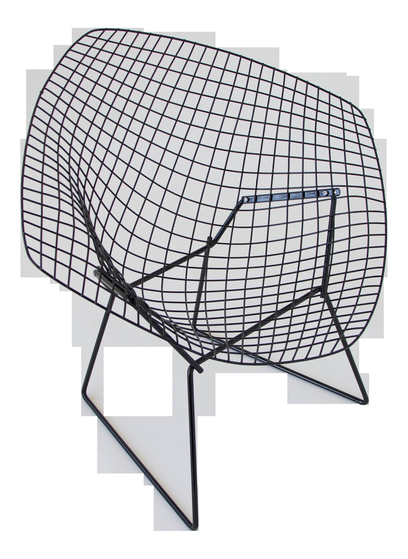 Bertoia diamond chair dimensions - Image Of Harry Bertoia Diamond Chair