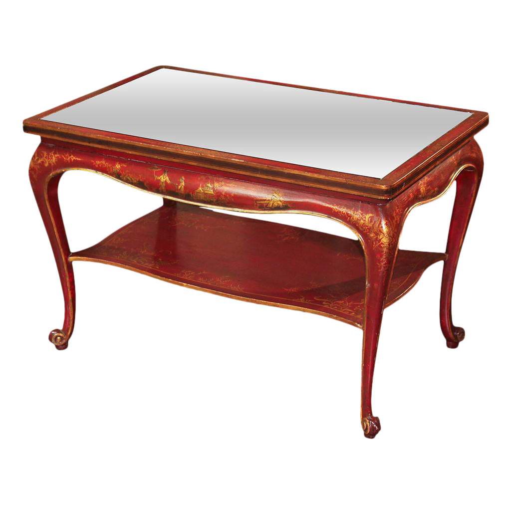 Superior jansen hand painted chinoiserie coffee table decaso geotapseo Gallery