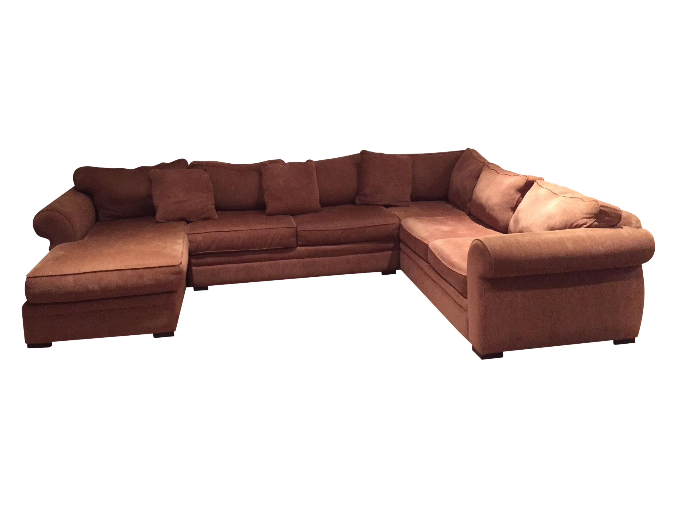 Large Sectional Couch Extra Large Bro...