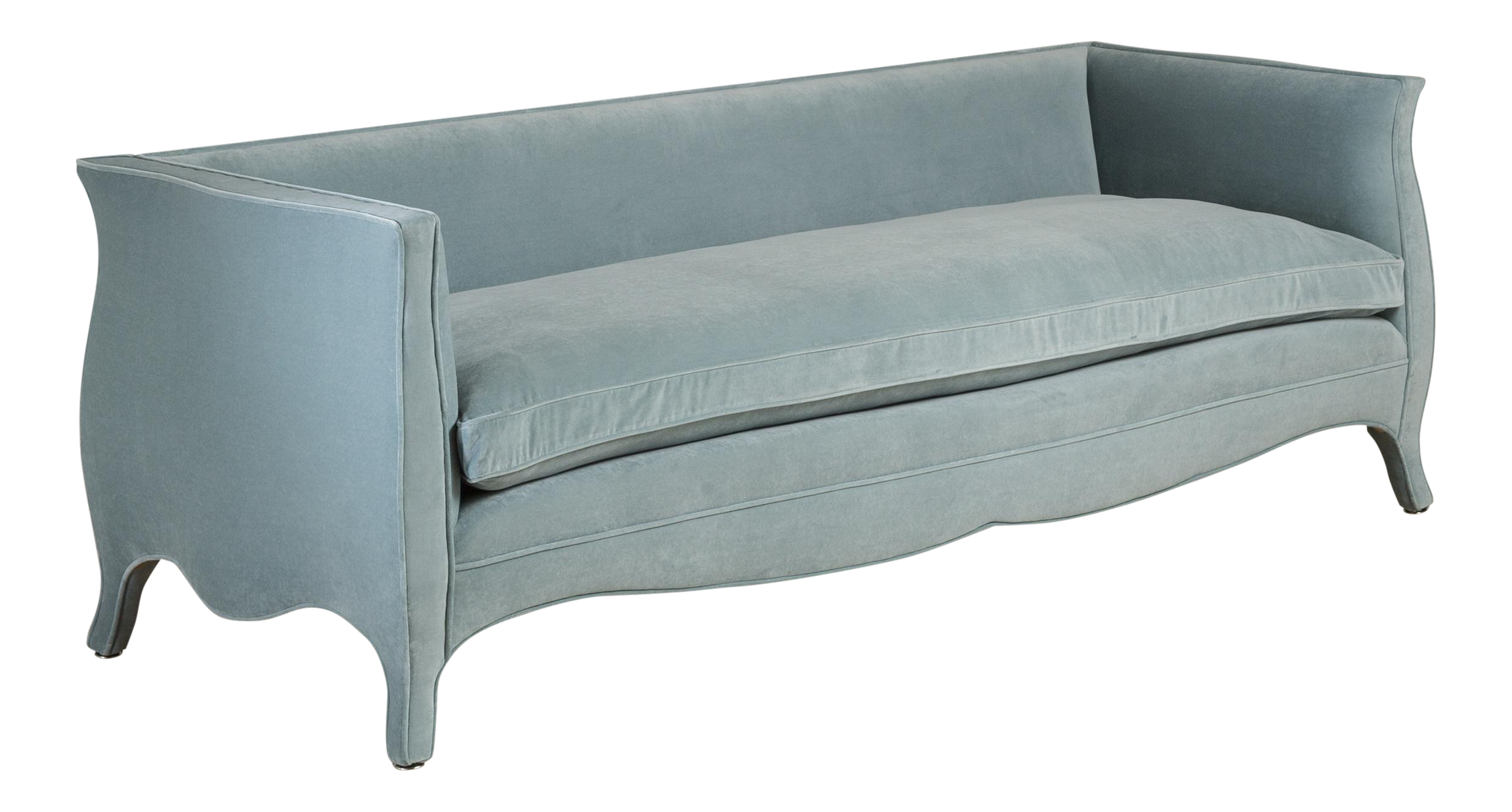 World Class Customizable A Standard High Back French Style Sofa