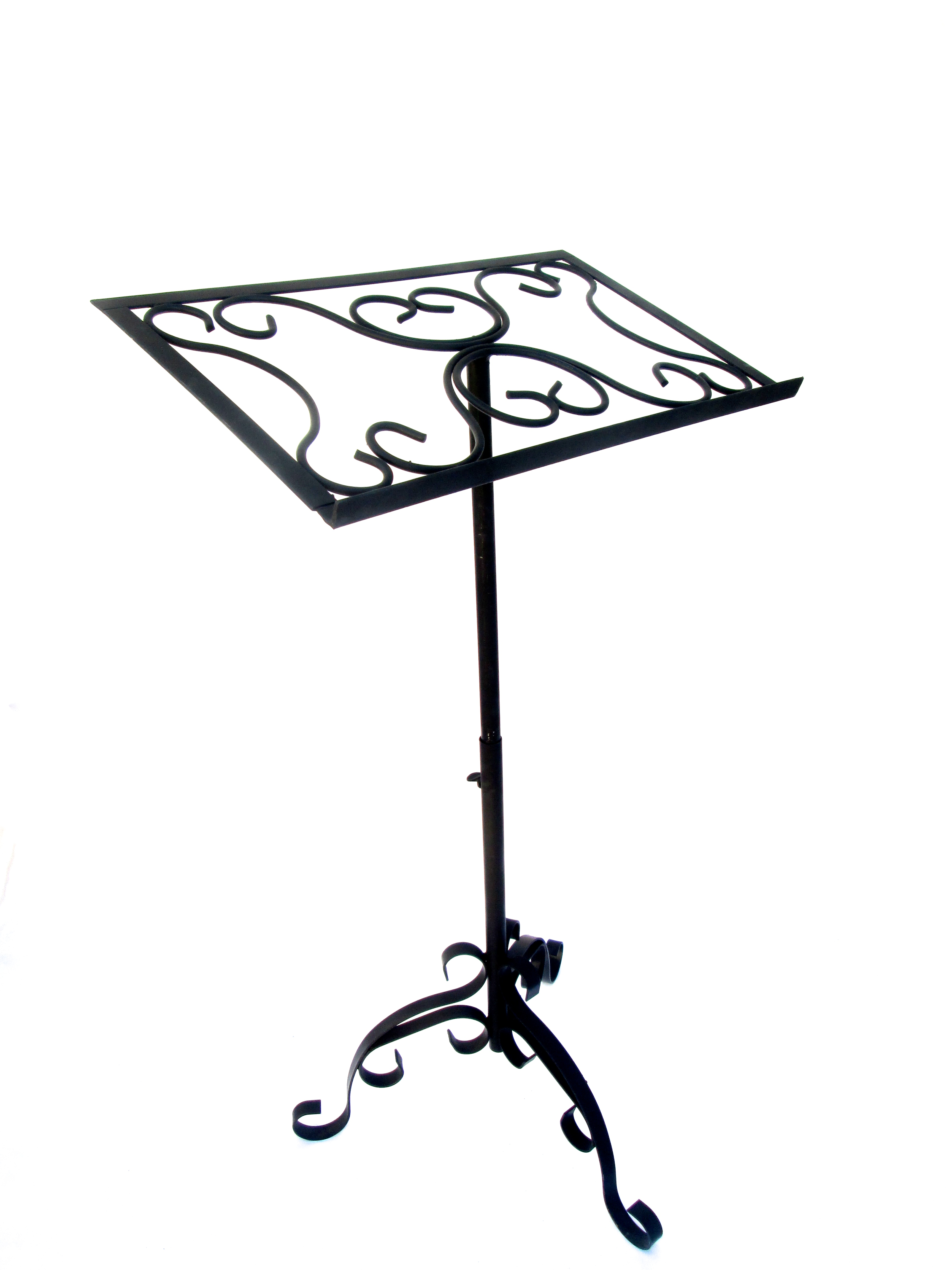 Antique Wrought Iron Sheet Music Stand Chairish