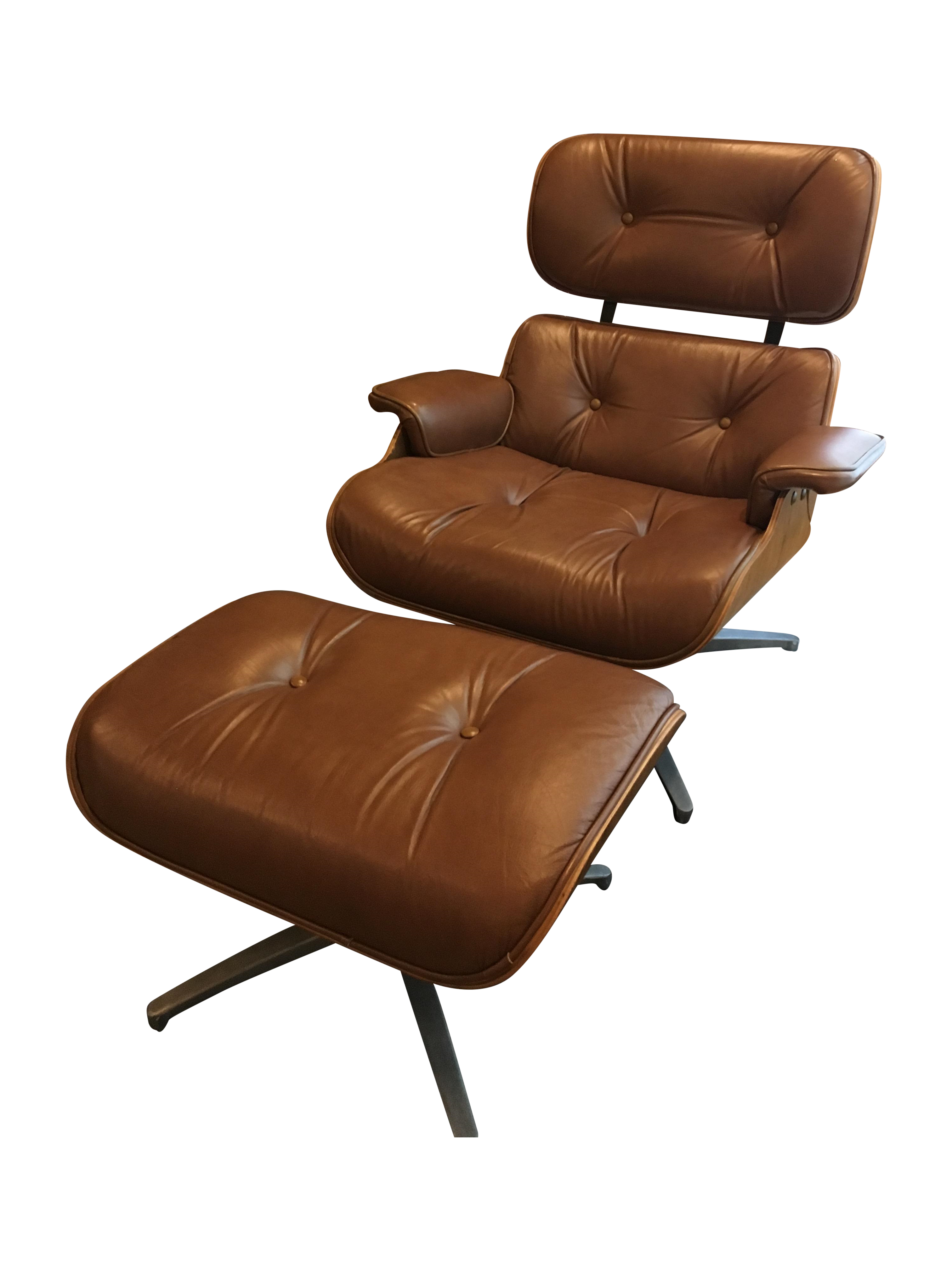 1960 segal reproduction of eames lounge chair chairish