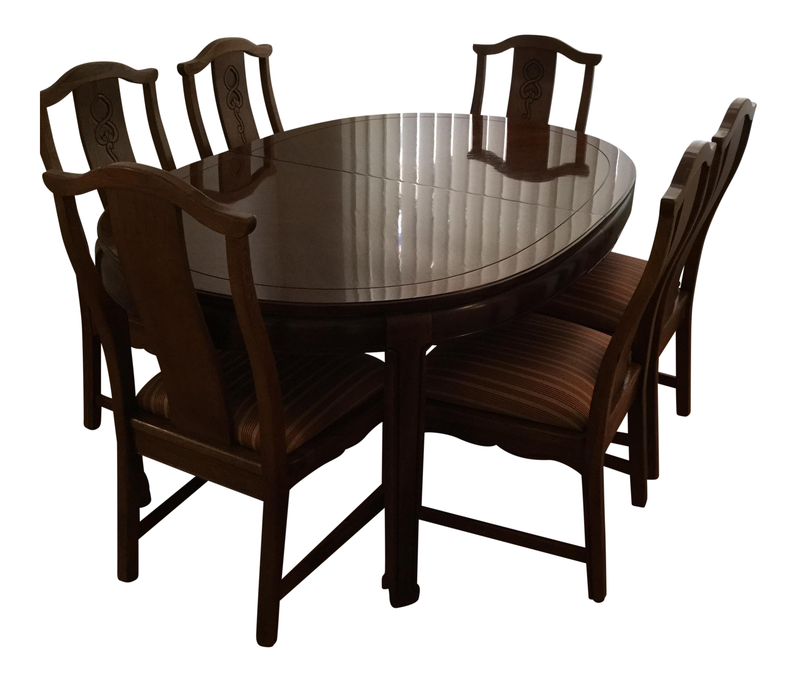 Thomasville Mystique II Dining Table & 6 Chairs