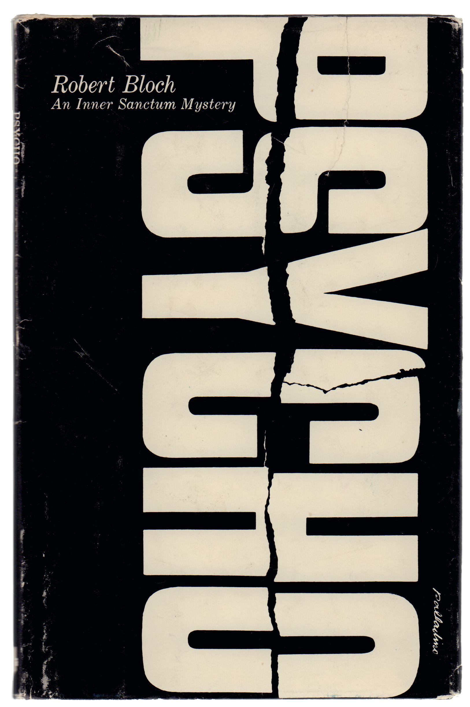 Psycho By Robert Bloch First Edition Hardcover Book Chairish