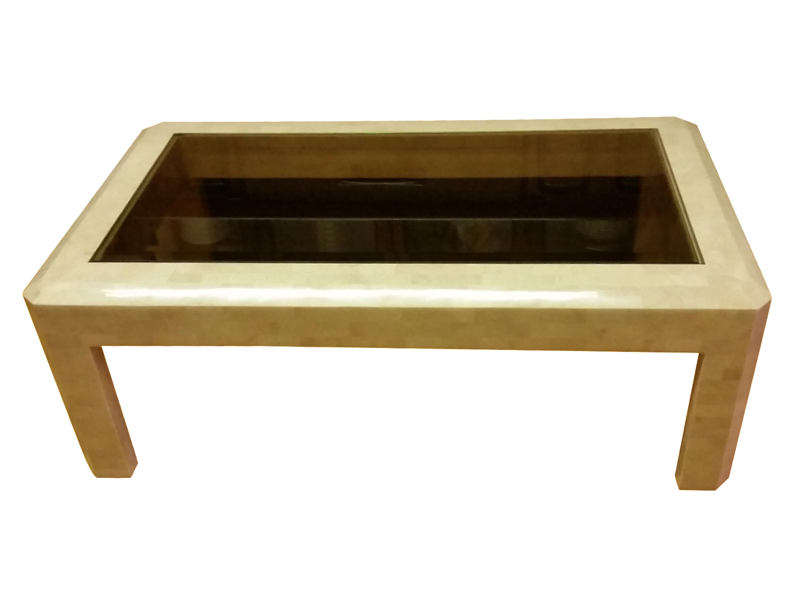 Image of Maitland-Smith Tessellated Stone Coffee Table - Maitland-Smith Tessellated Stone Coffee Table Chairish