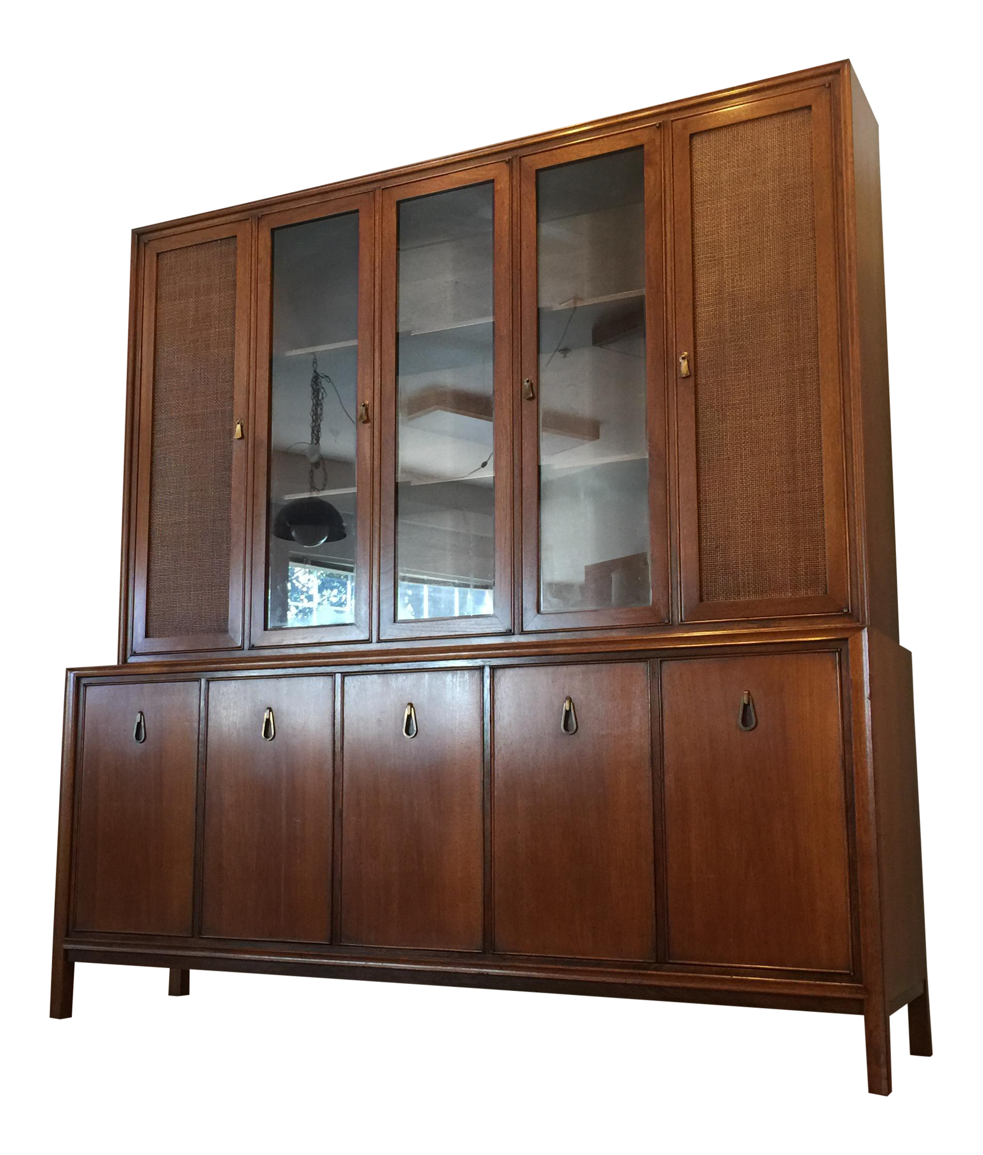 Hutch Display Cabinet Mid Century Modern China And Display Cabinets