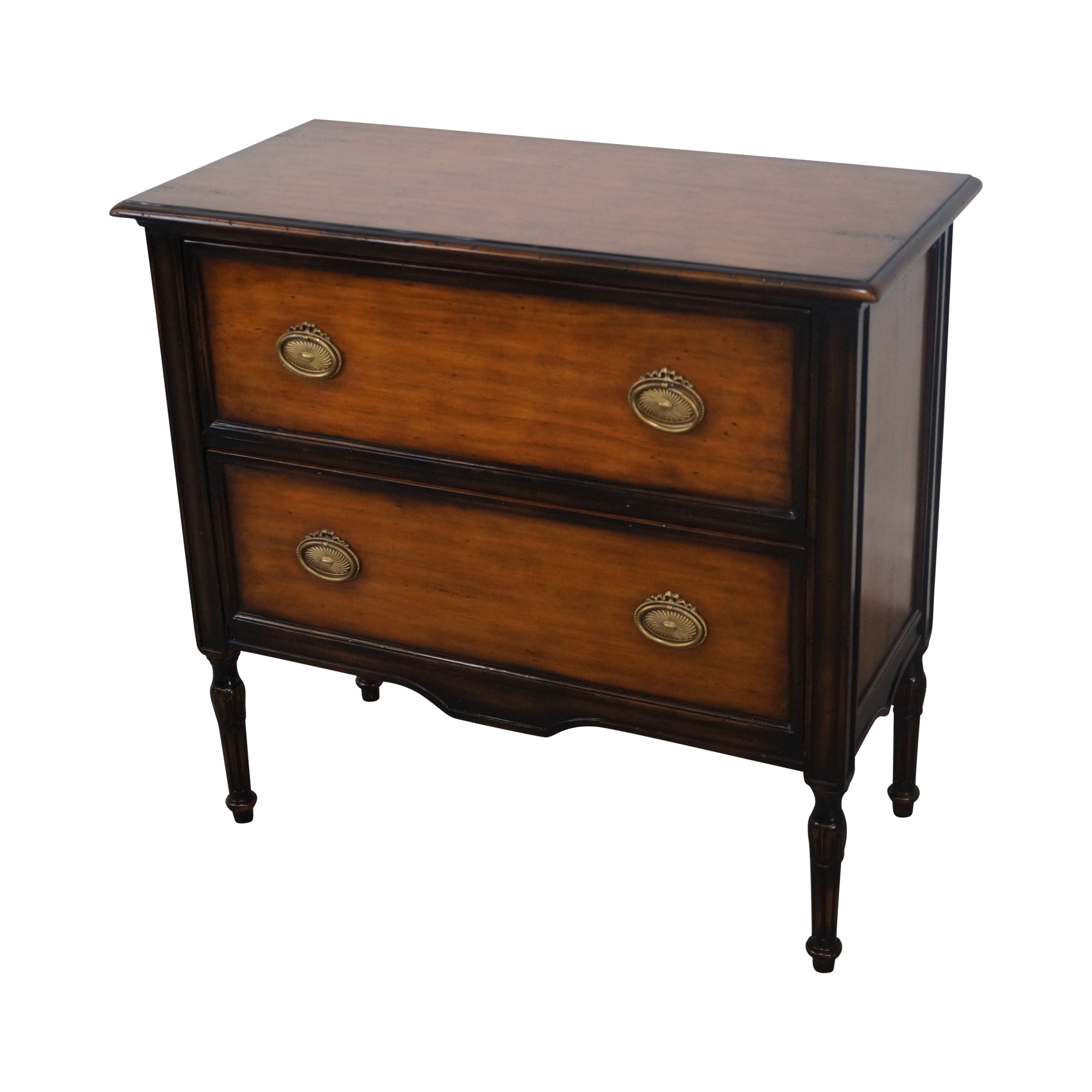 Theodore Alexander Two Drawer Italian Style Chest Chairish