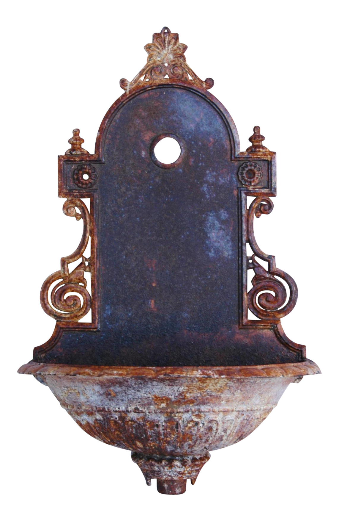 Antique French Iron Wall Lavabo Fountain Chairish